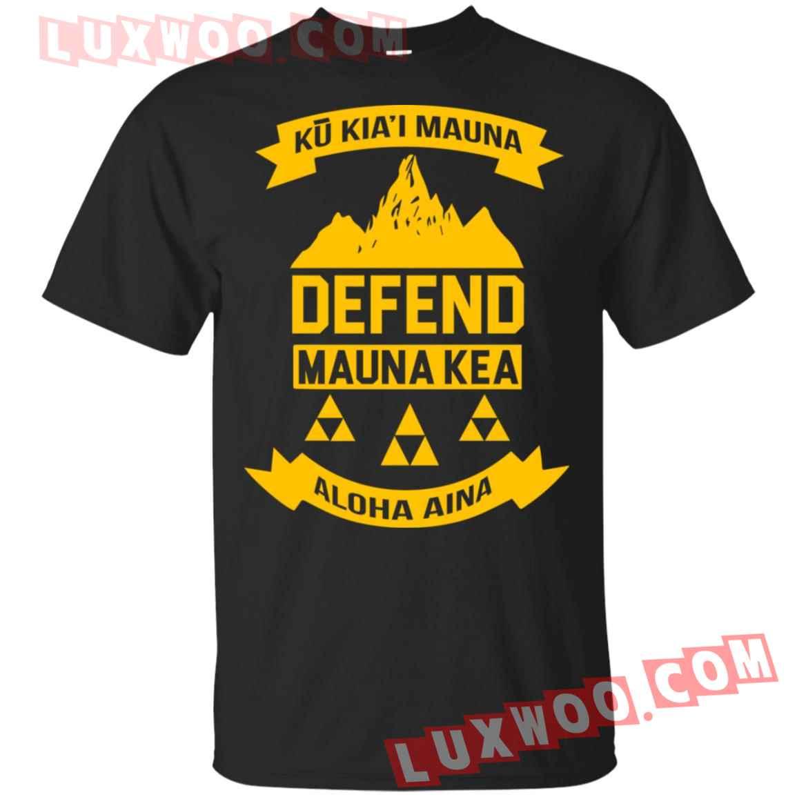 Defend Ku Kiai Mauna Kapu Aloha Shirt
