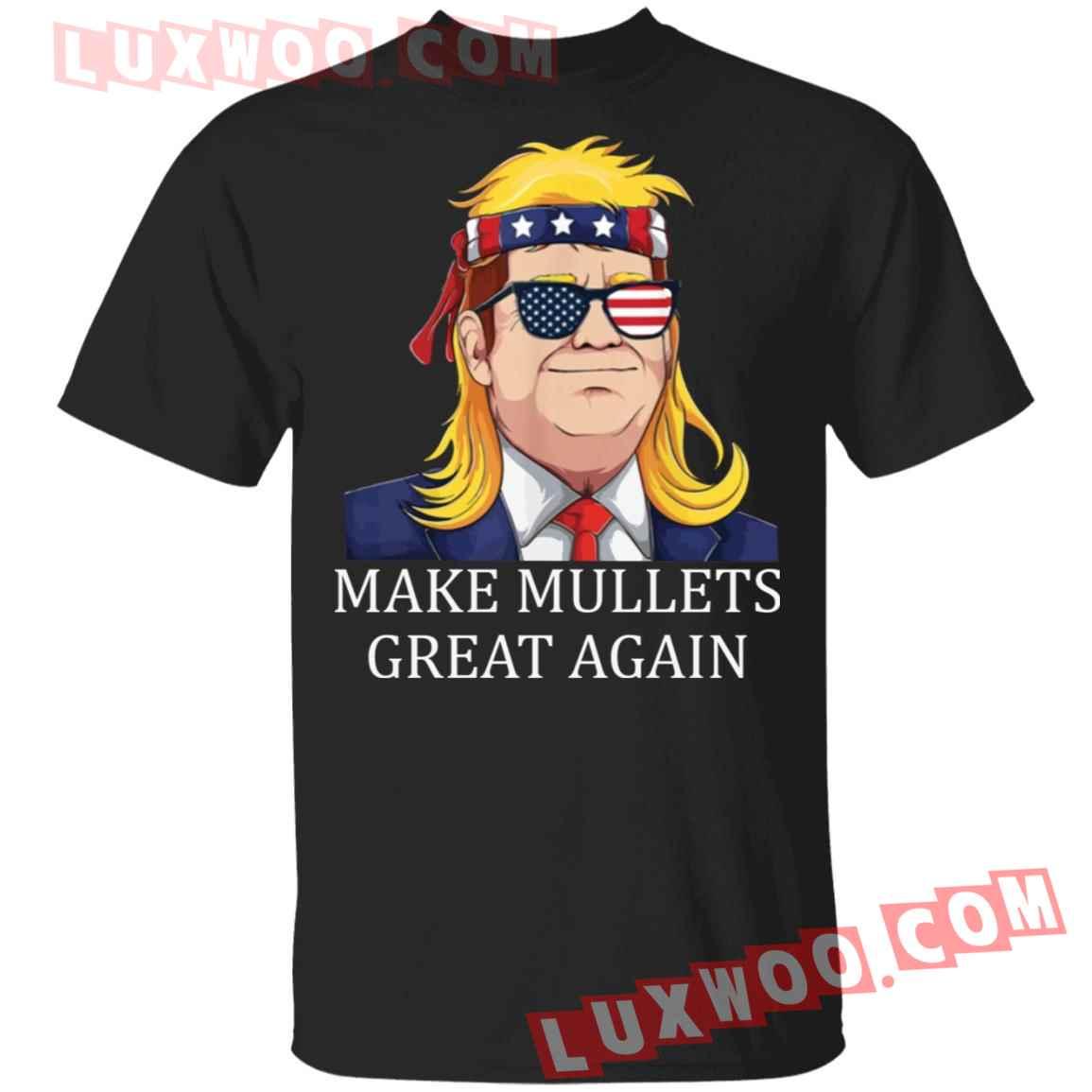 Donald Trump Make Mullets Great Again Shirt