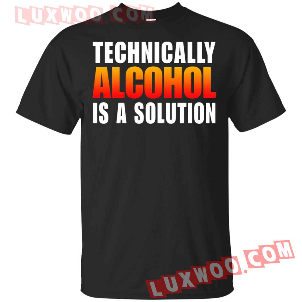 Elon Musk Technically Alcohol Is A Solution Shirt