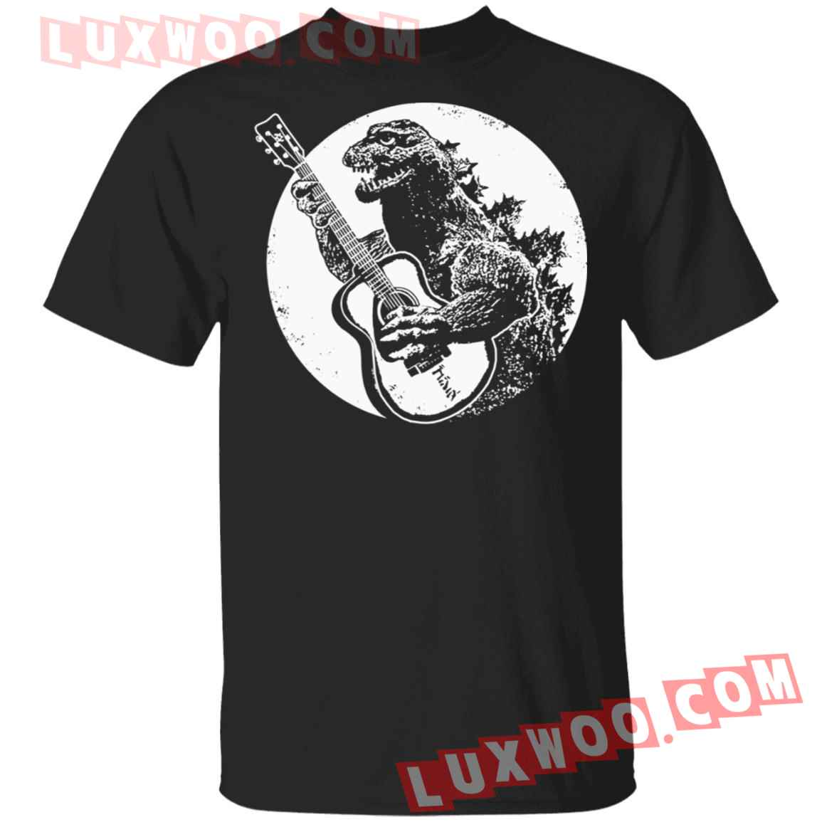 Godzilla Play Guitar Shirt