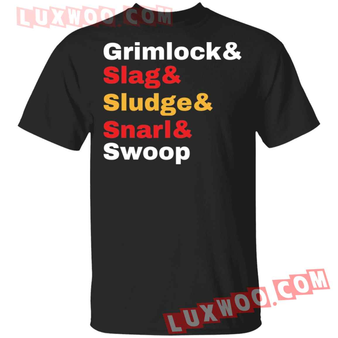 Grimlock Slag Sludge Snarl Swoop Shirt
