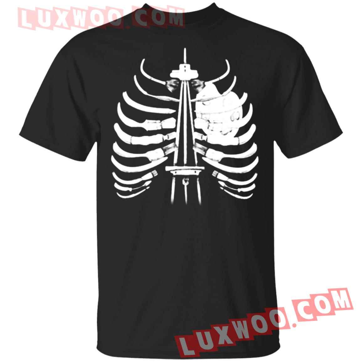 Halloween Artist Brush Bones Shirt