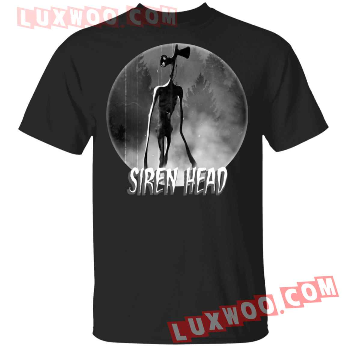 Halloween Scary Siren Head Meme Shirt