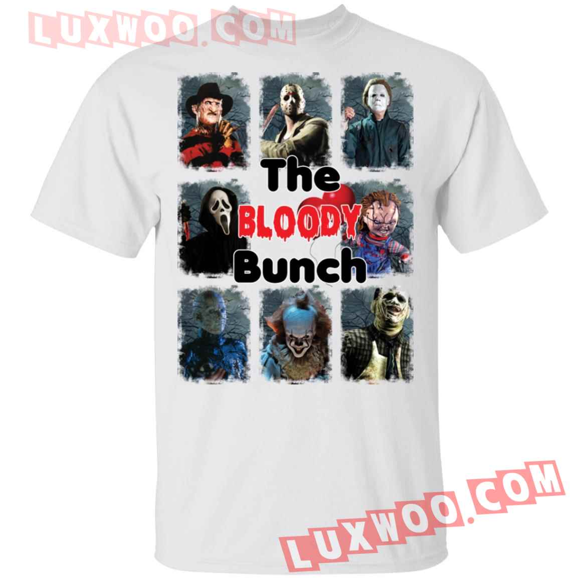 Horror Characters The Bloody Bunch Shirt