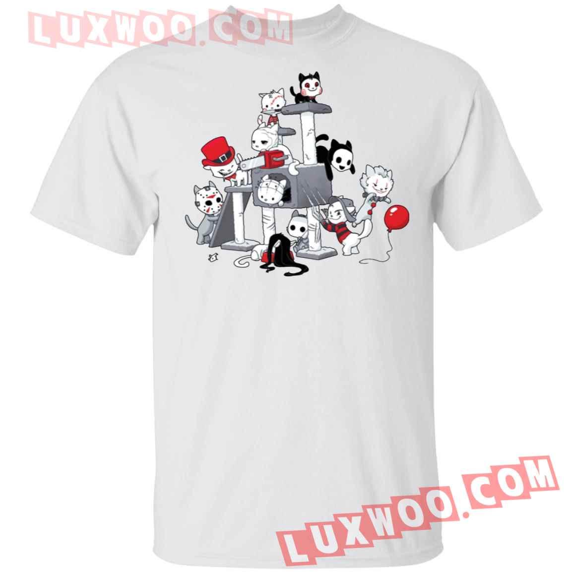 Horror Kitties Park Shirt