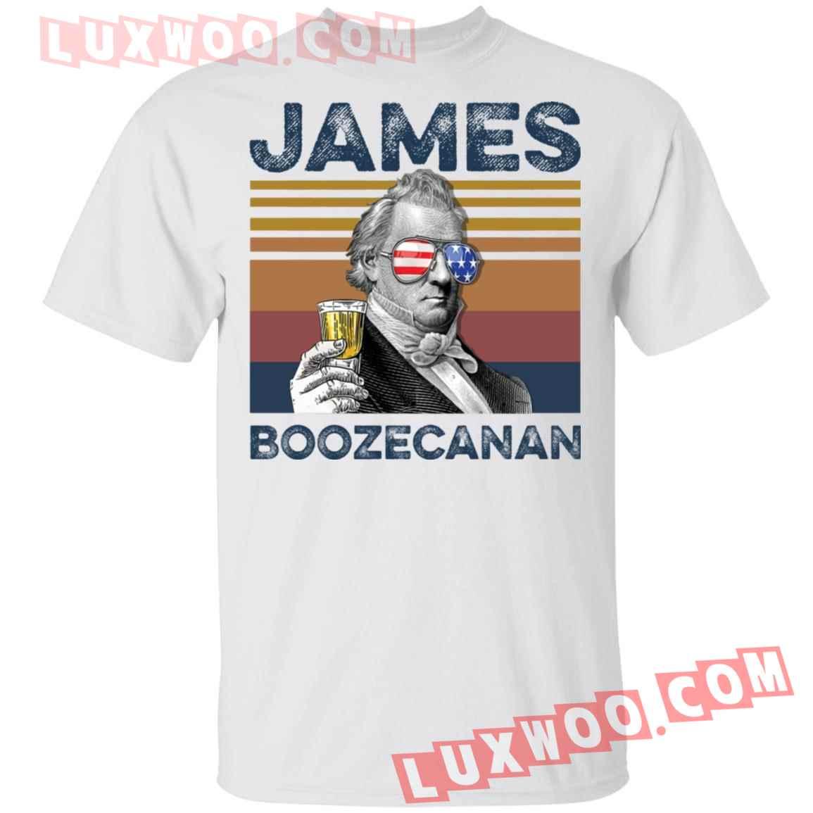 James Buchanan James Boozecanan Shirt