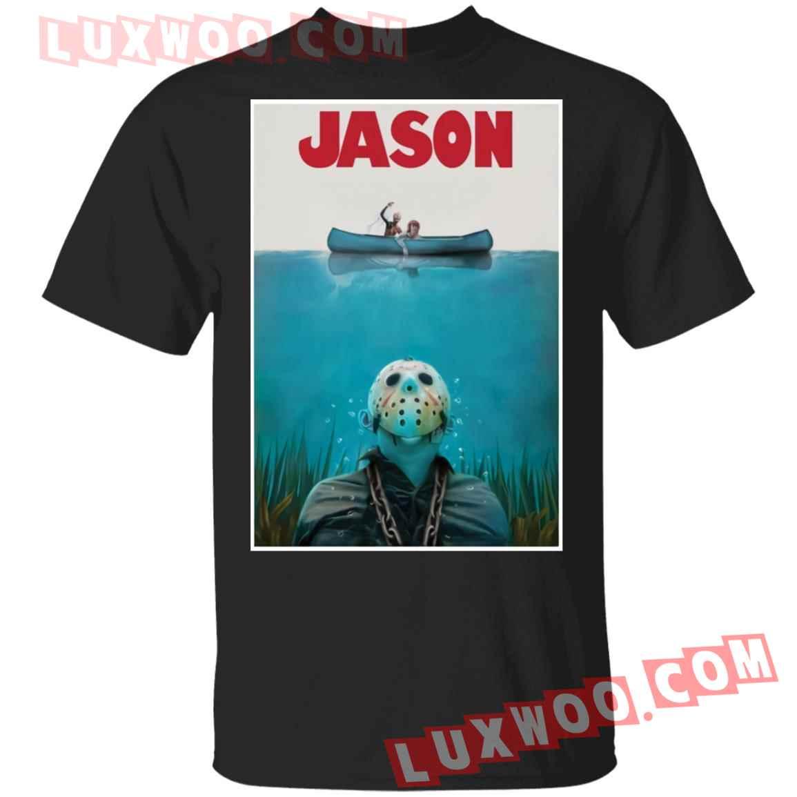 Jason Voorhees Jaws Shirt