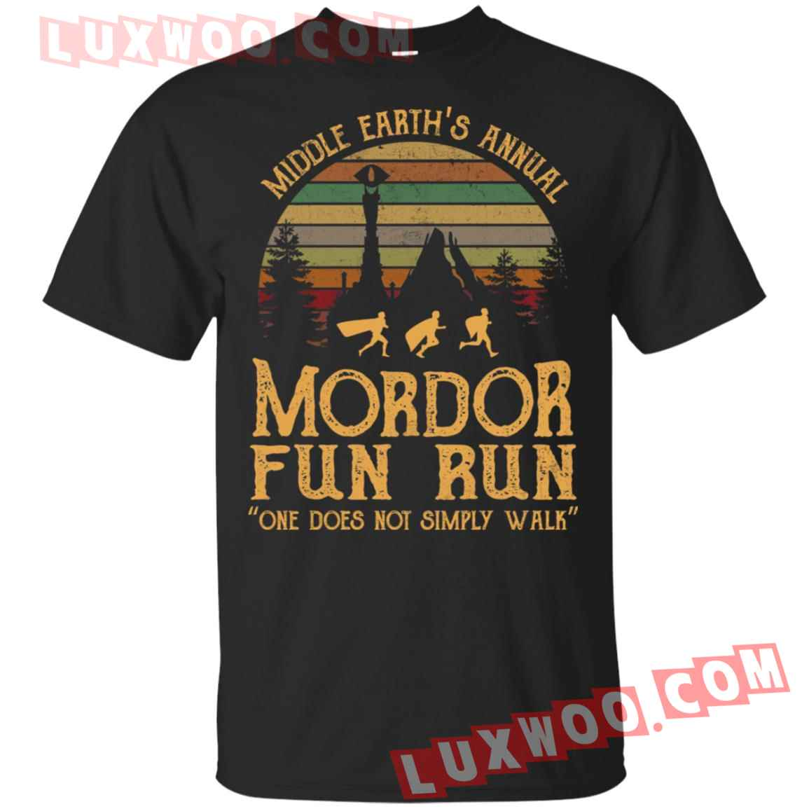 Middle Earths Annual Mordor Fun Run One Does Not Simply Walk