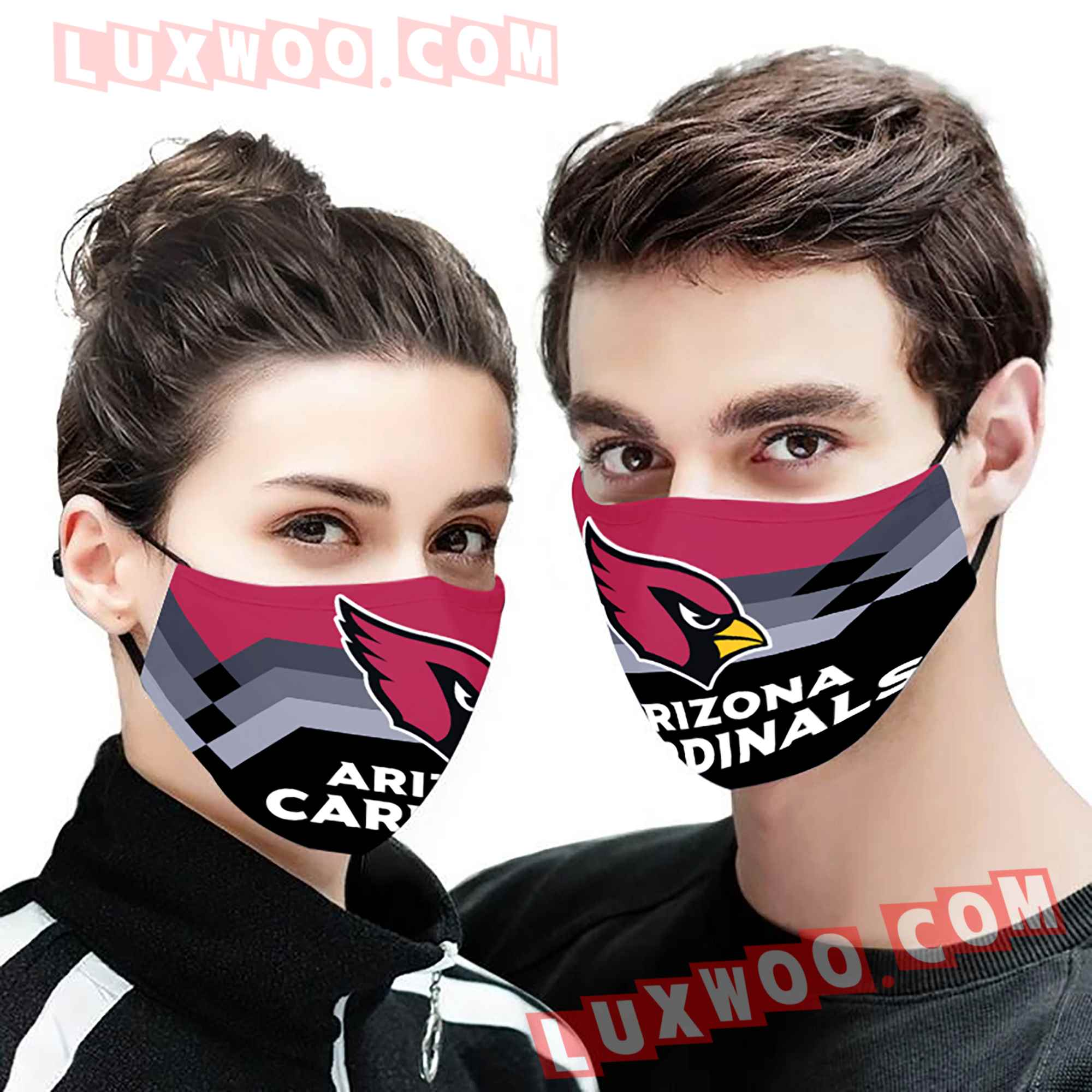 Arizona Cardinals 3d Face Mask V13