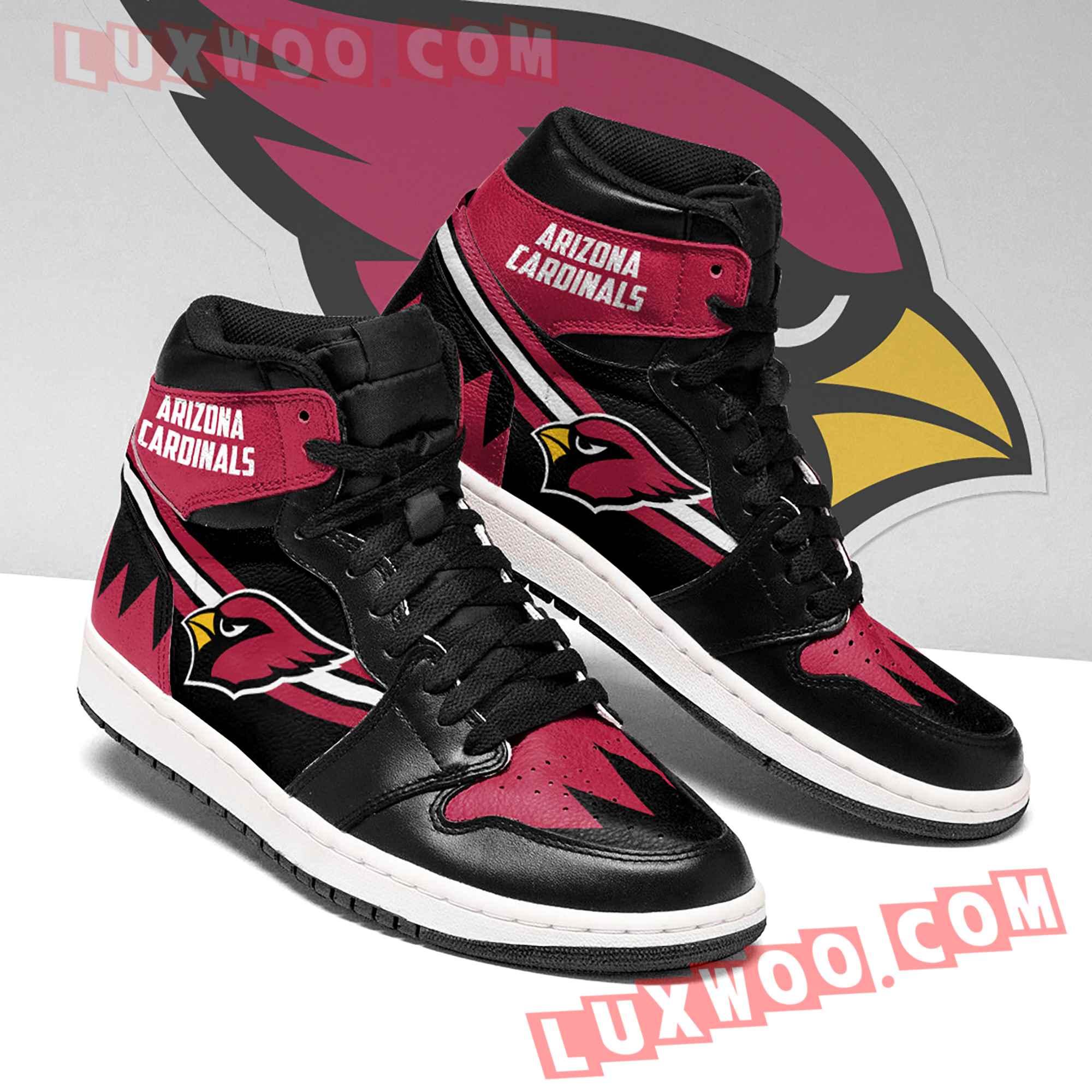 Arizona Cardinals Nfl Air Jordan 1 Custom Shoes Sneaker V5