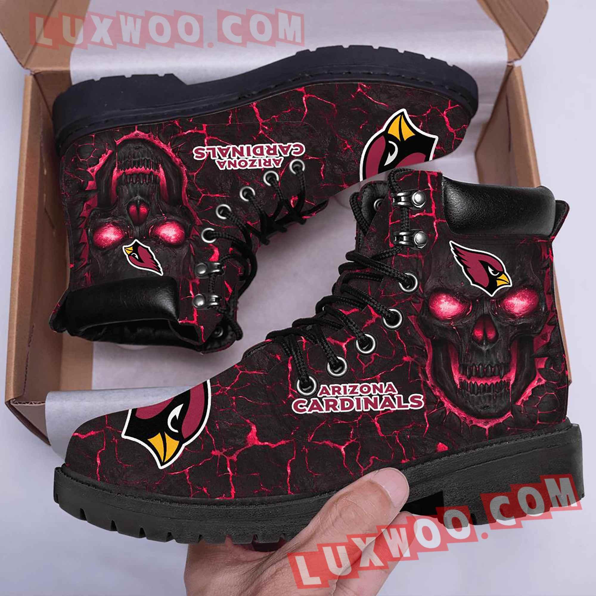 Arizona Cardinals Nfl Season Boots Shoes V1