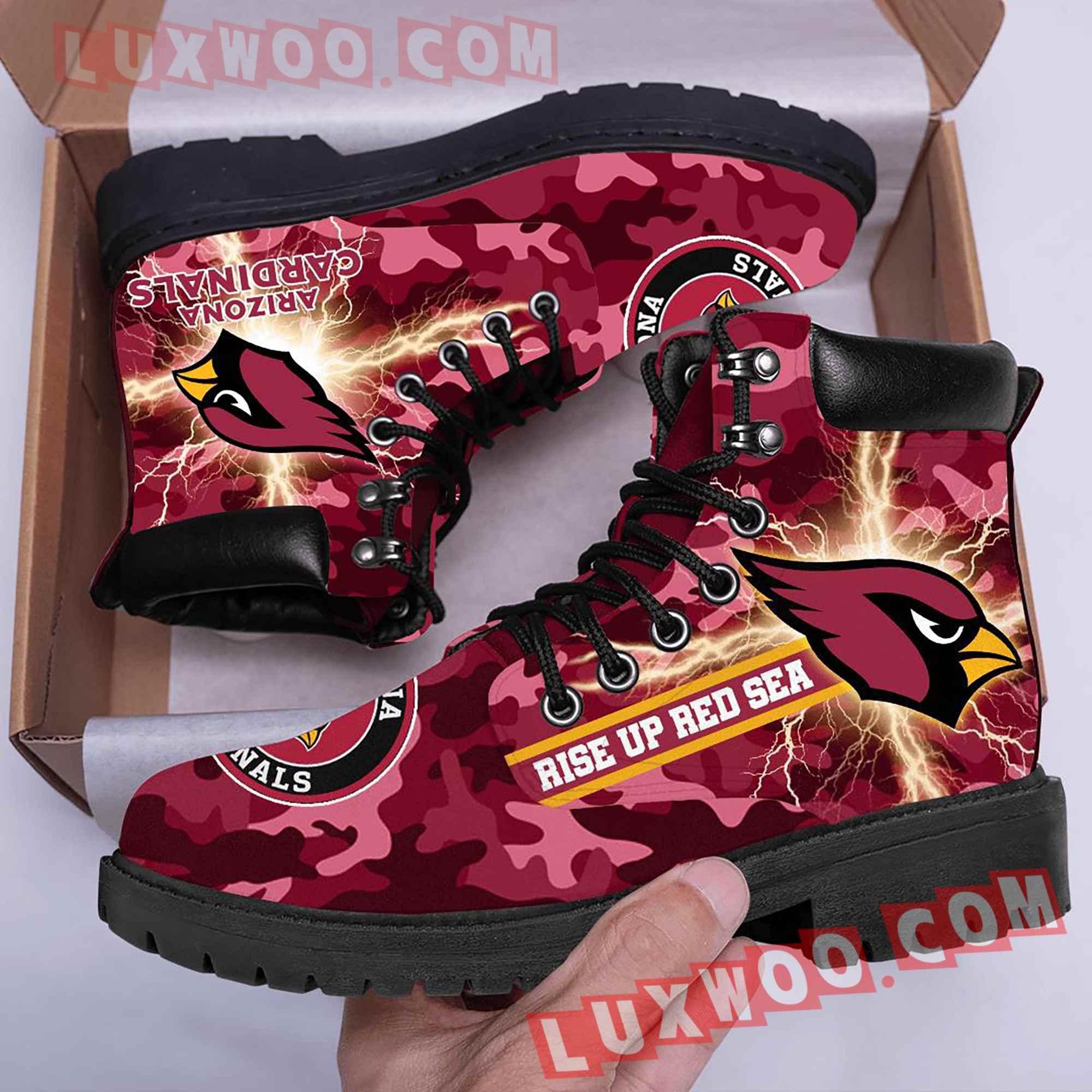 Arizona Cardinals Nfl Season Boots Shoes V2