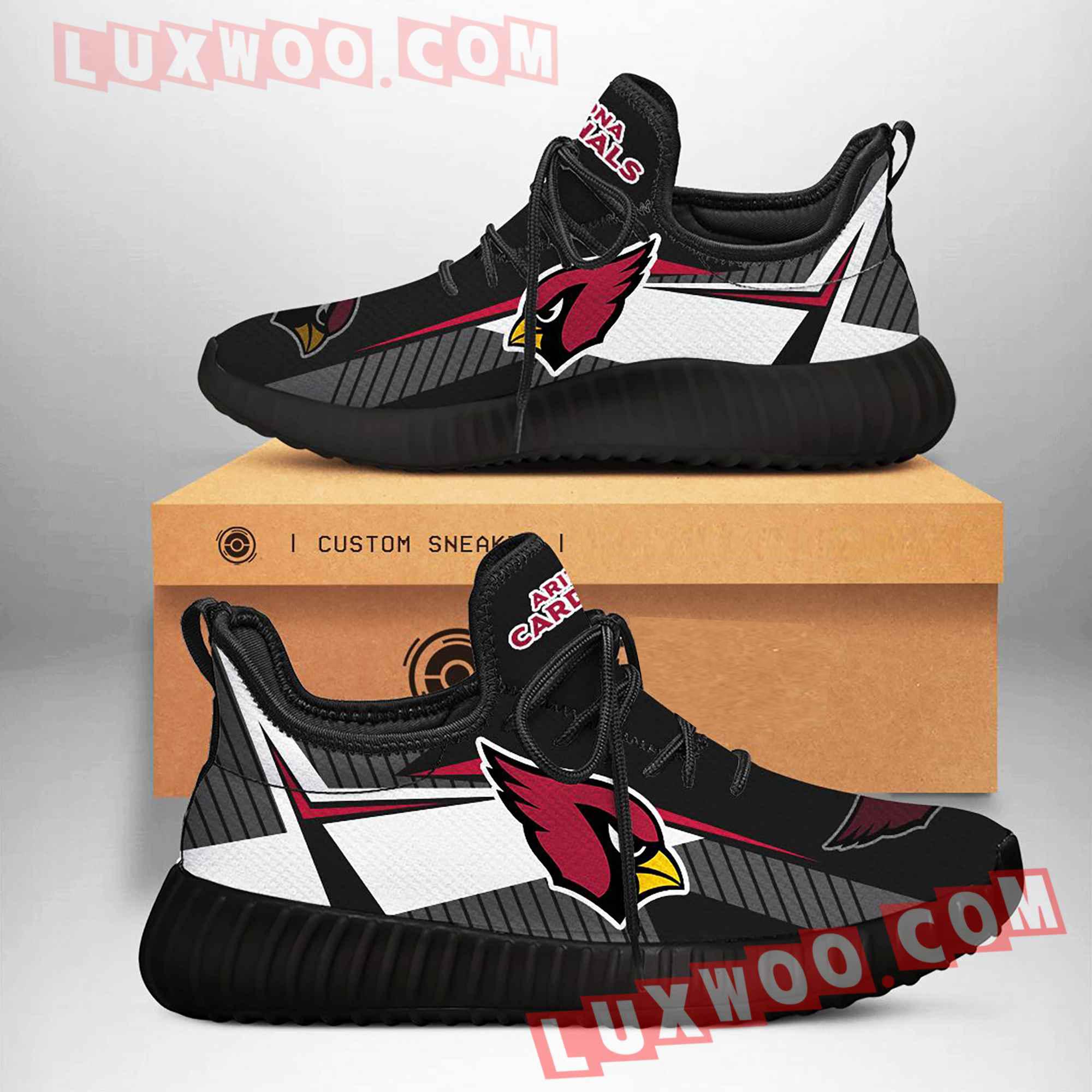 Arizona Cardinals Nfl Yezzy Custom Shoes Sneaker V1