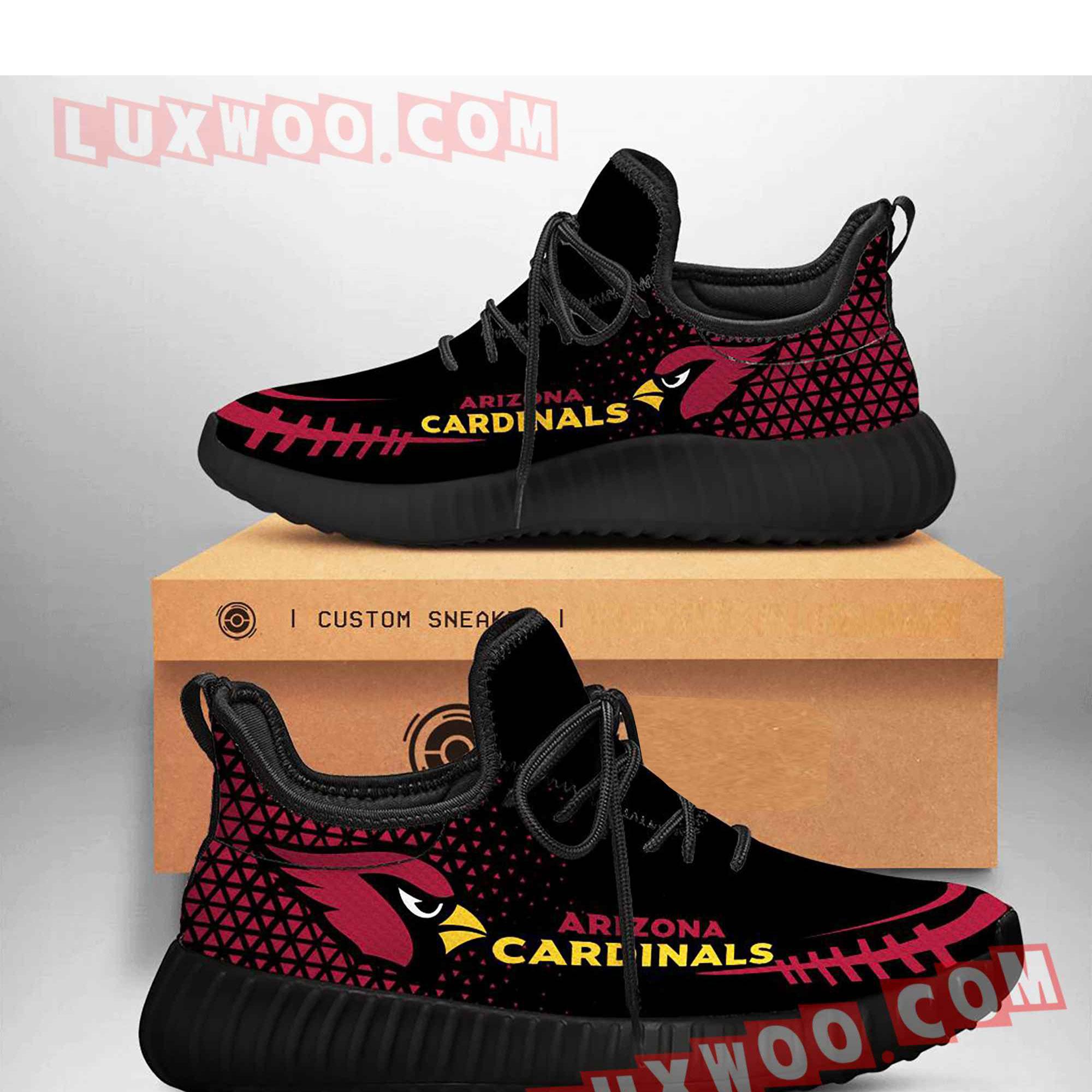 Arizona Cardinals Nfl Yezzy Custom Shoes Sneaker V4
