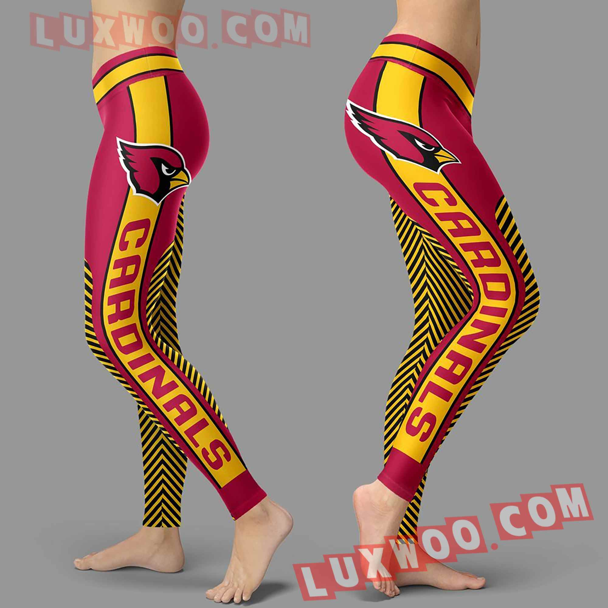 Nfl Arizona Cardinals Leggings Custom All Over Print 3d Leggings V1