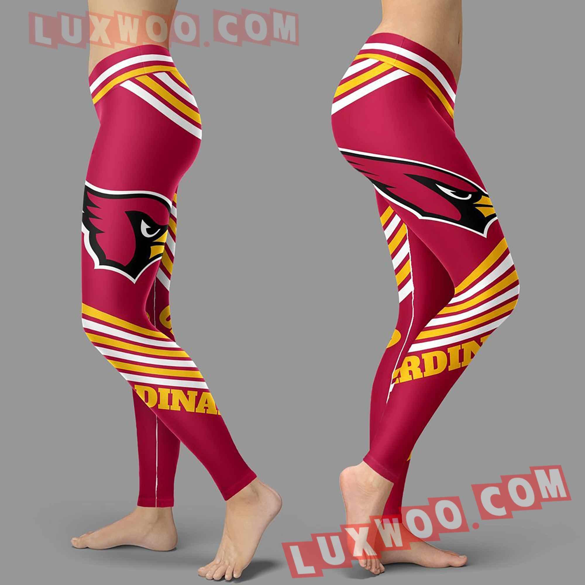 Nfl Arizona Cardinals Leggings Custom All Over Print 3d Leggings V2