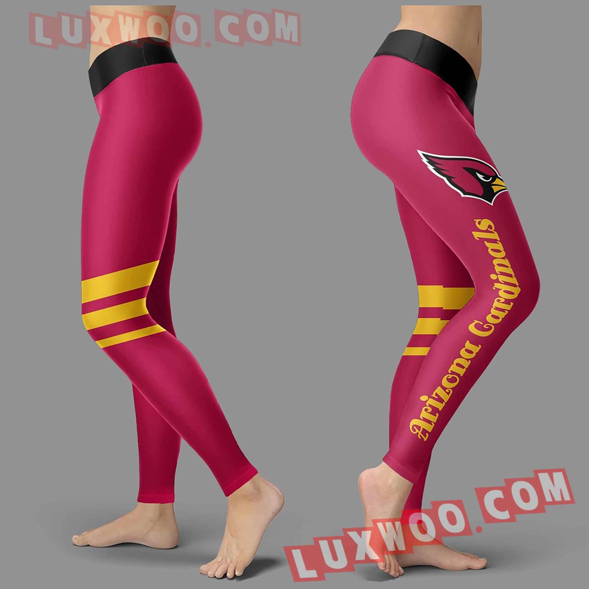 Nfl Arizona Cardinals Leggings Custom All Over Print 3d Leggings V3