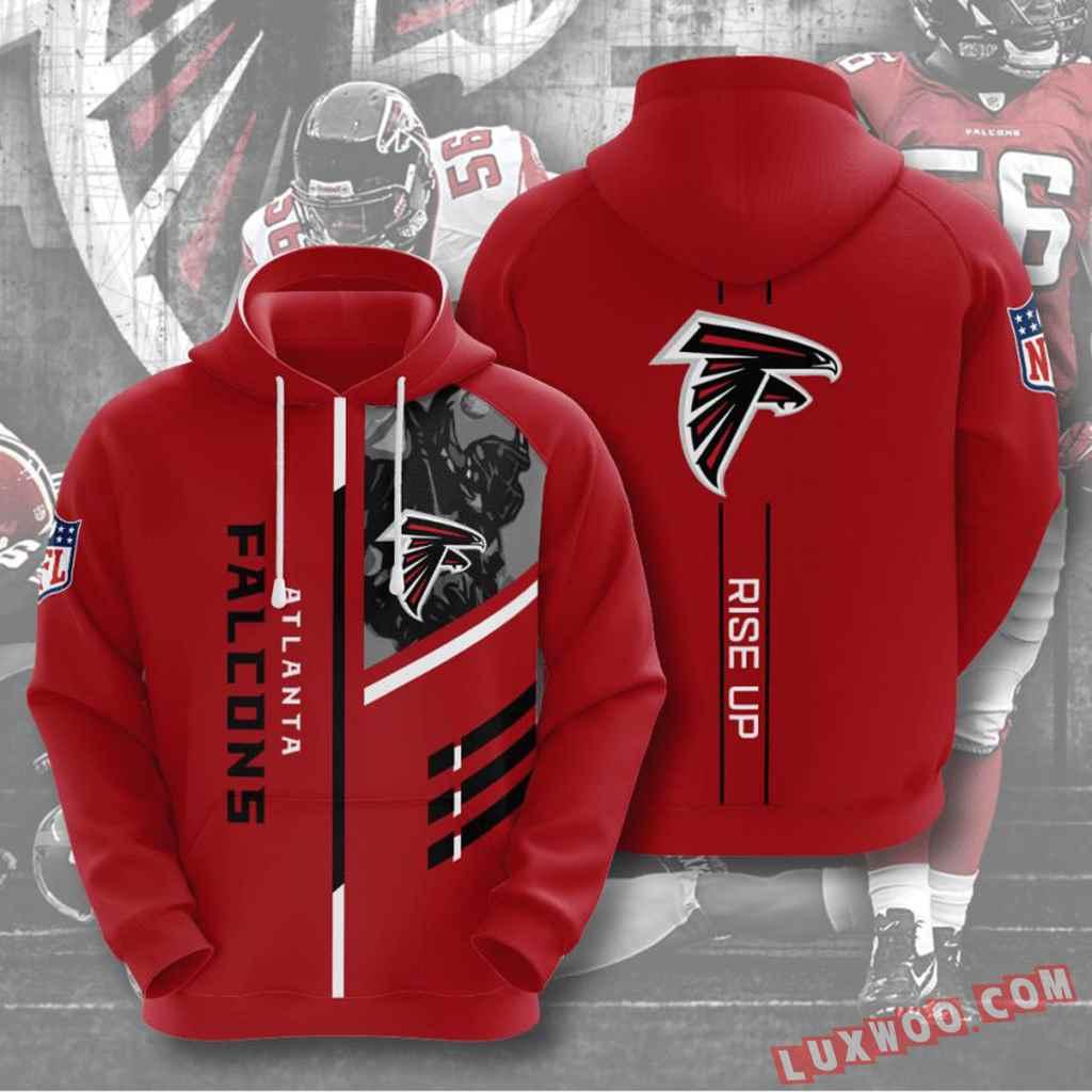 Nfl Atlanta Falcons Hoodies Custom All Over Print 3d Pullover Hoodie V1