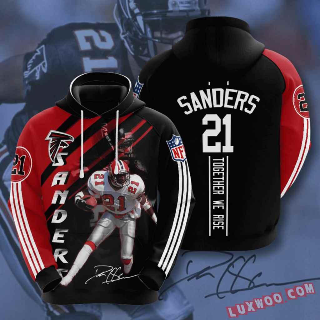 Nfl Atlanta Falcons Hoodies Custom All Over Print 3d Pullover Hoodie V12
