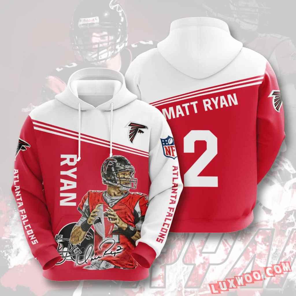 Nfl Atlanta Falcons Hoodies Custom All Over Print 3d Pullover Hoodie V5