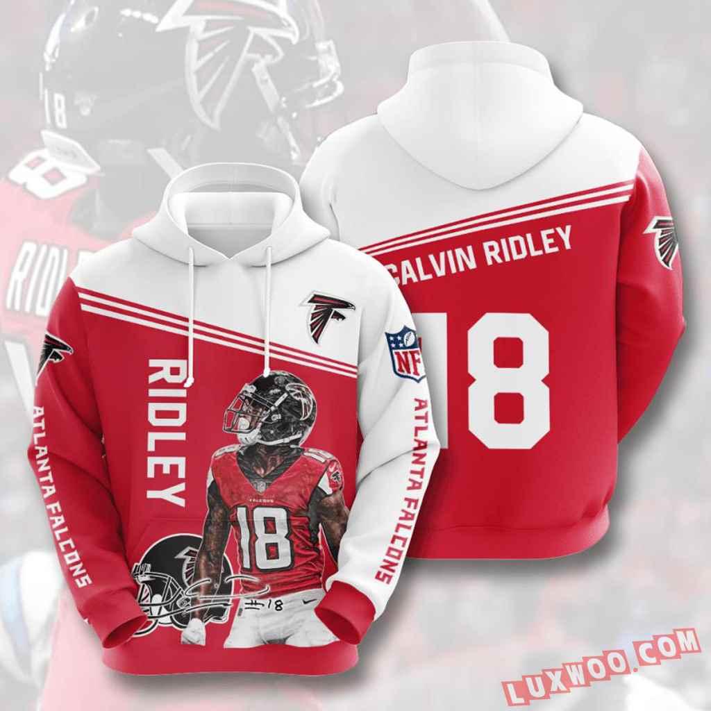 Nfl Atlanta Falcons Hoodies Custom All Over Print 3d Pullover Hoodie V6