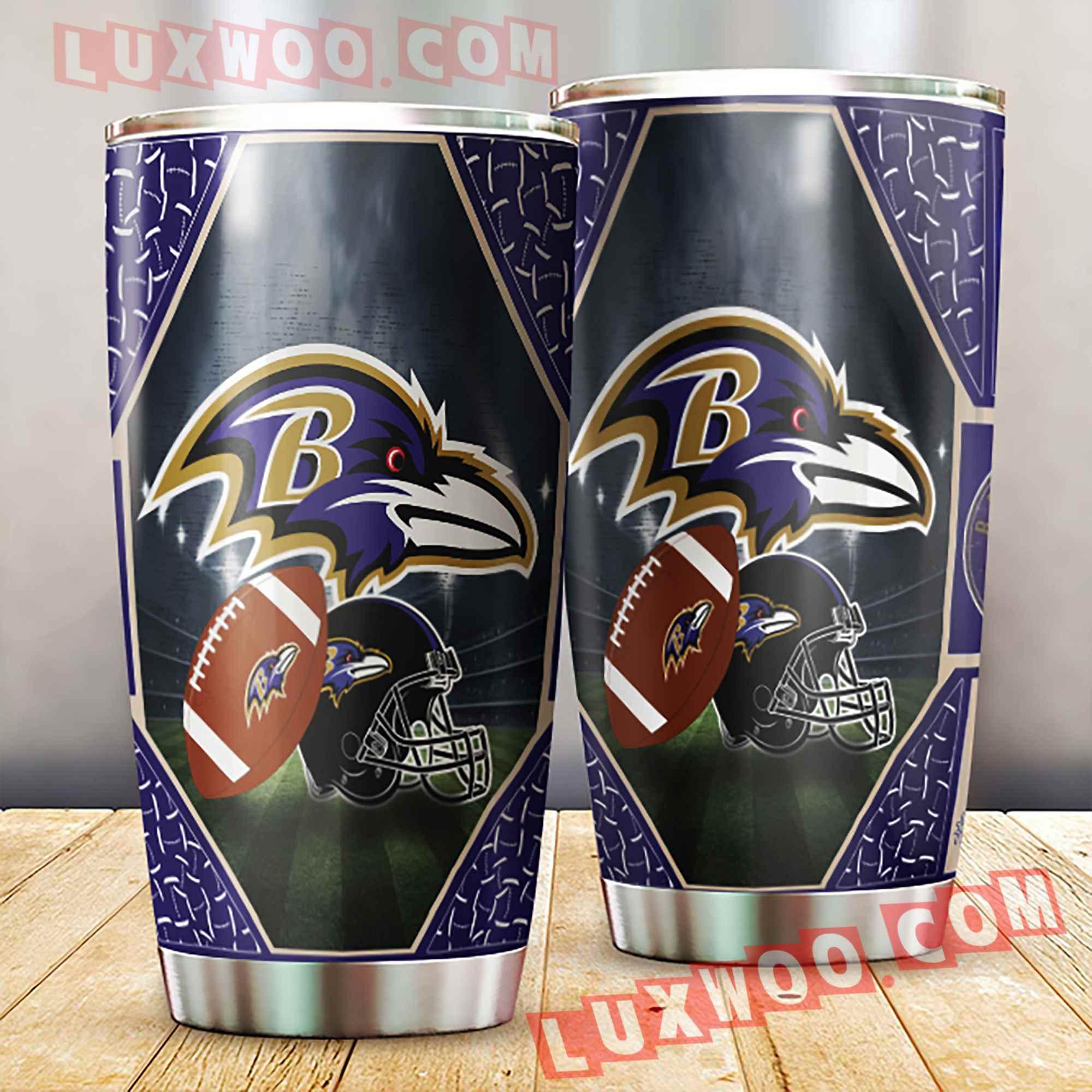 Baltimore Ravens Nfl 3d Tumbler