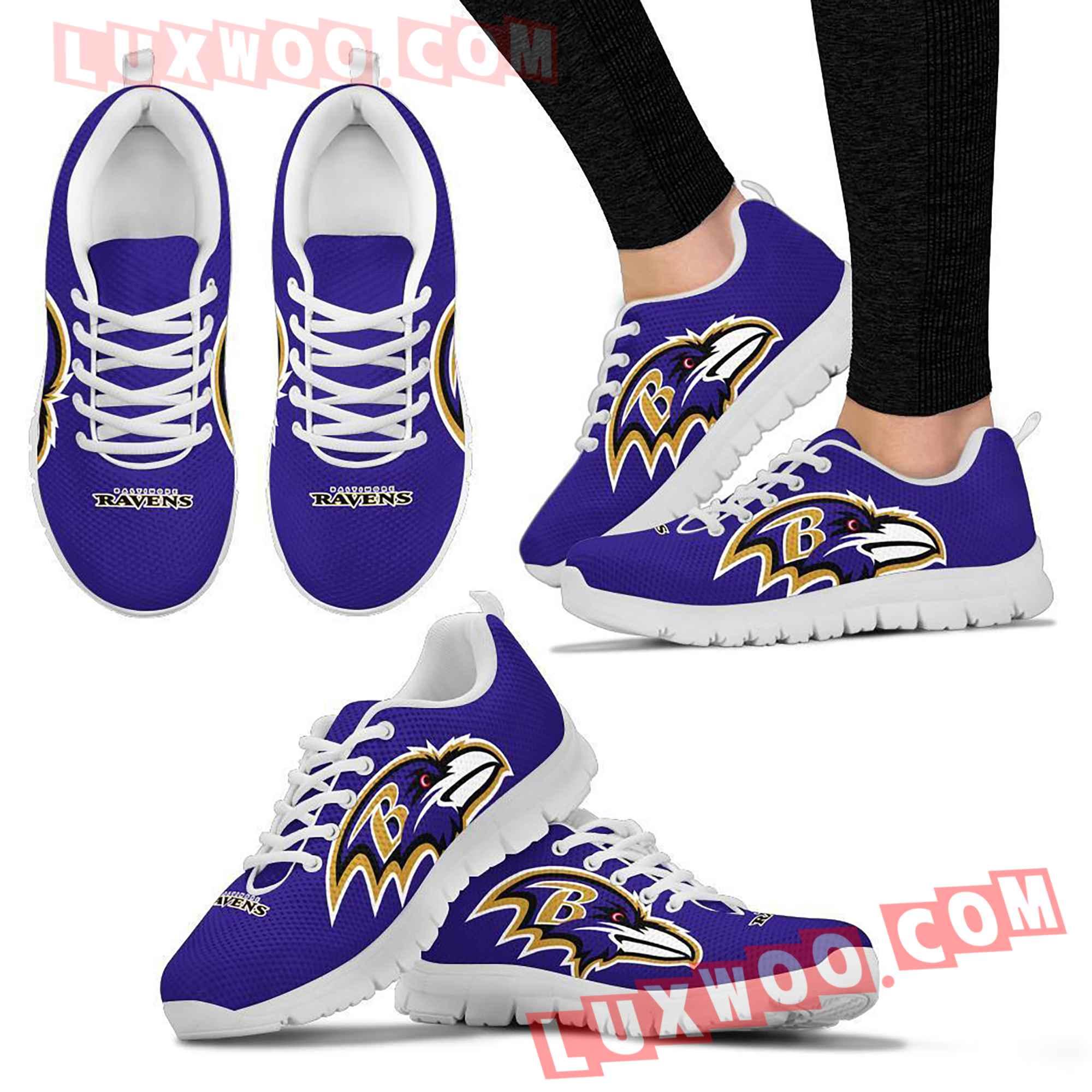 Baltimore Ravens Nfl Custom Shoes Sneaker V1