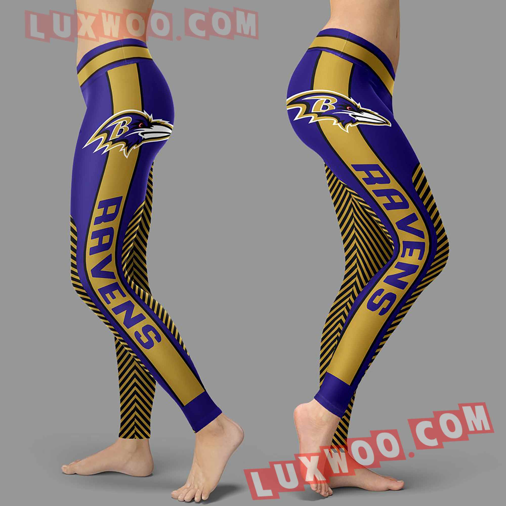 Nfl Baltimore Ravens Leggings Custom All Over Print 3d Leggings V1