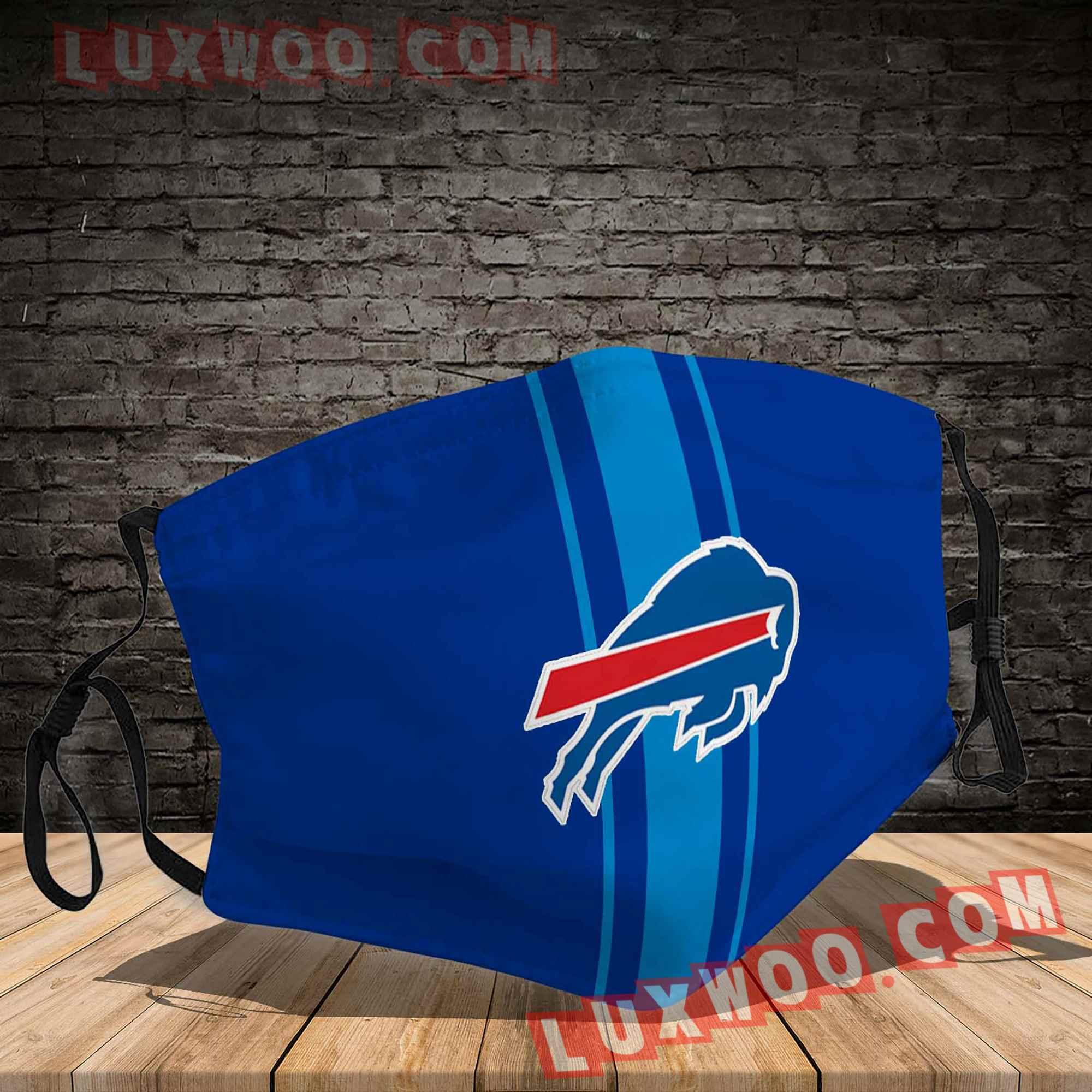Buffalo Bills 3d Face Mask V2