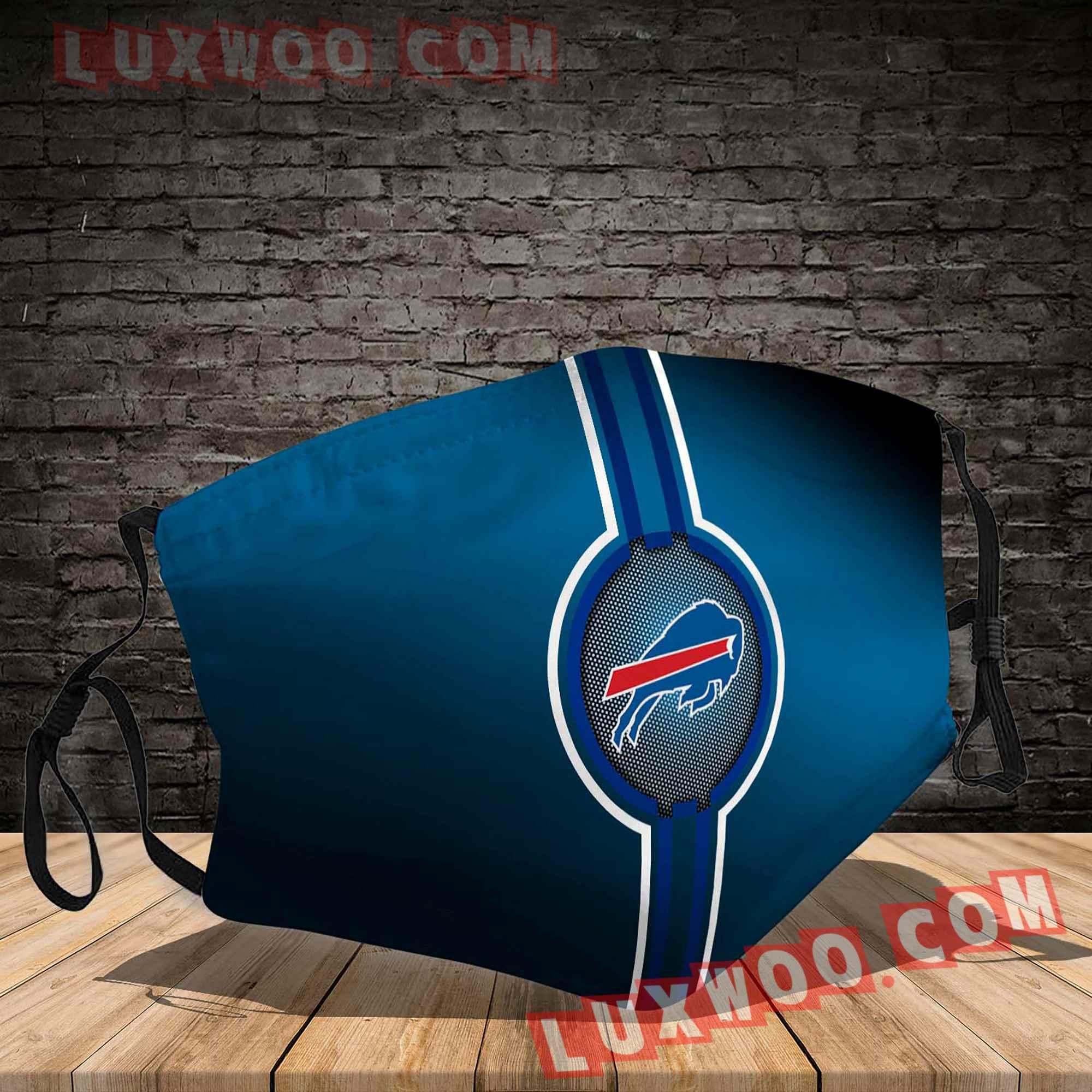 Buffalo Bills 3d Face Mask V5