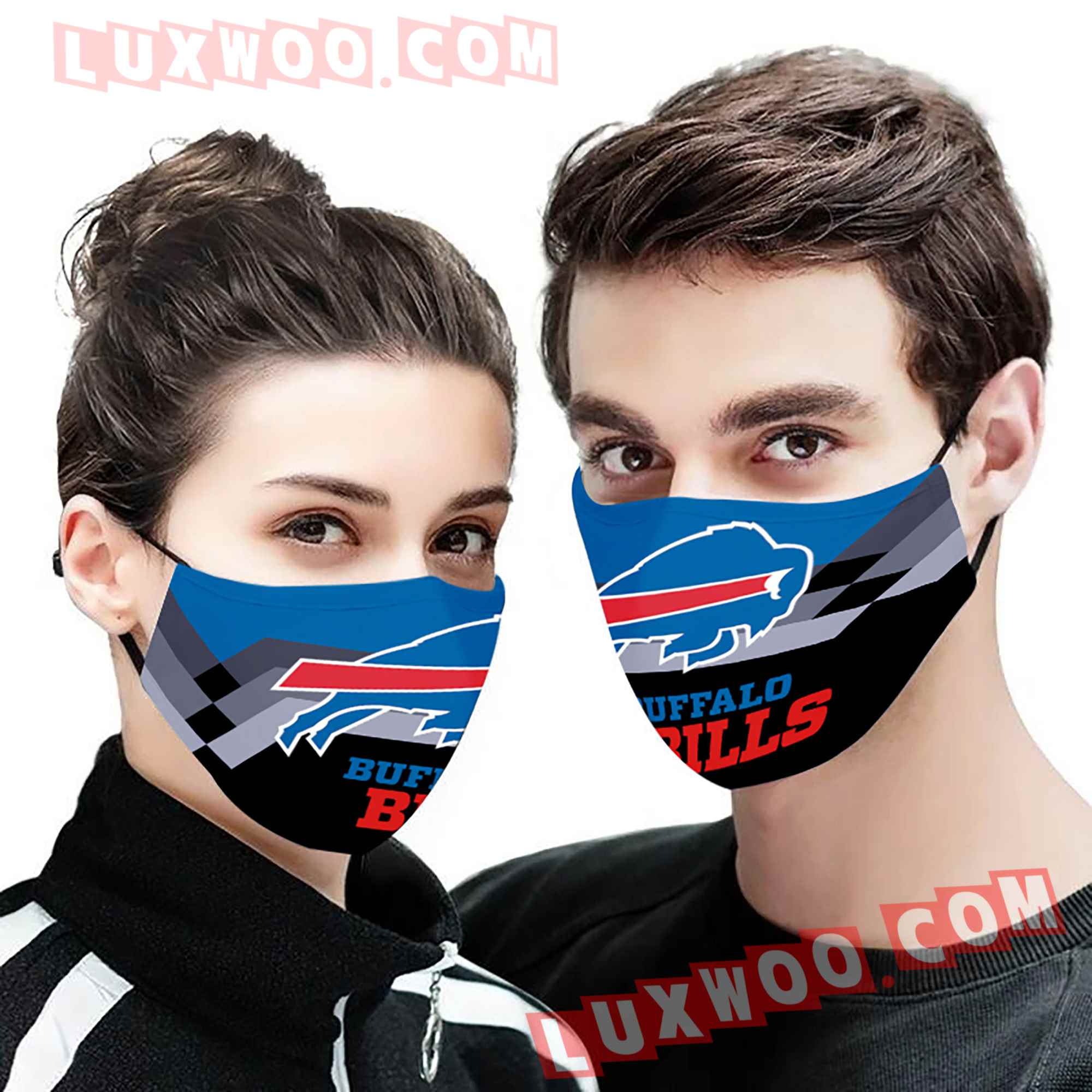 Buffalo Bills 3d Face Mask V7