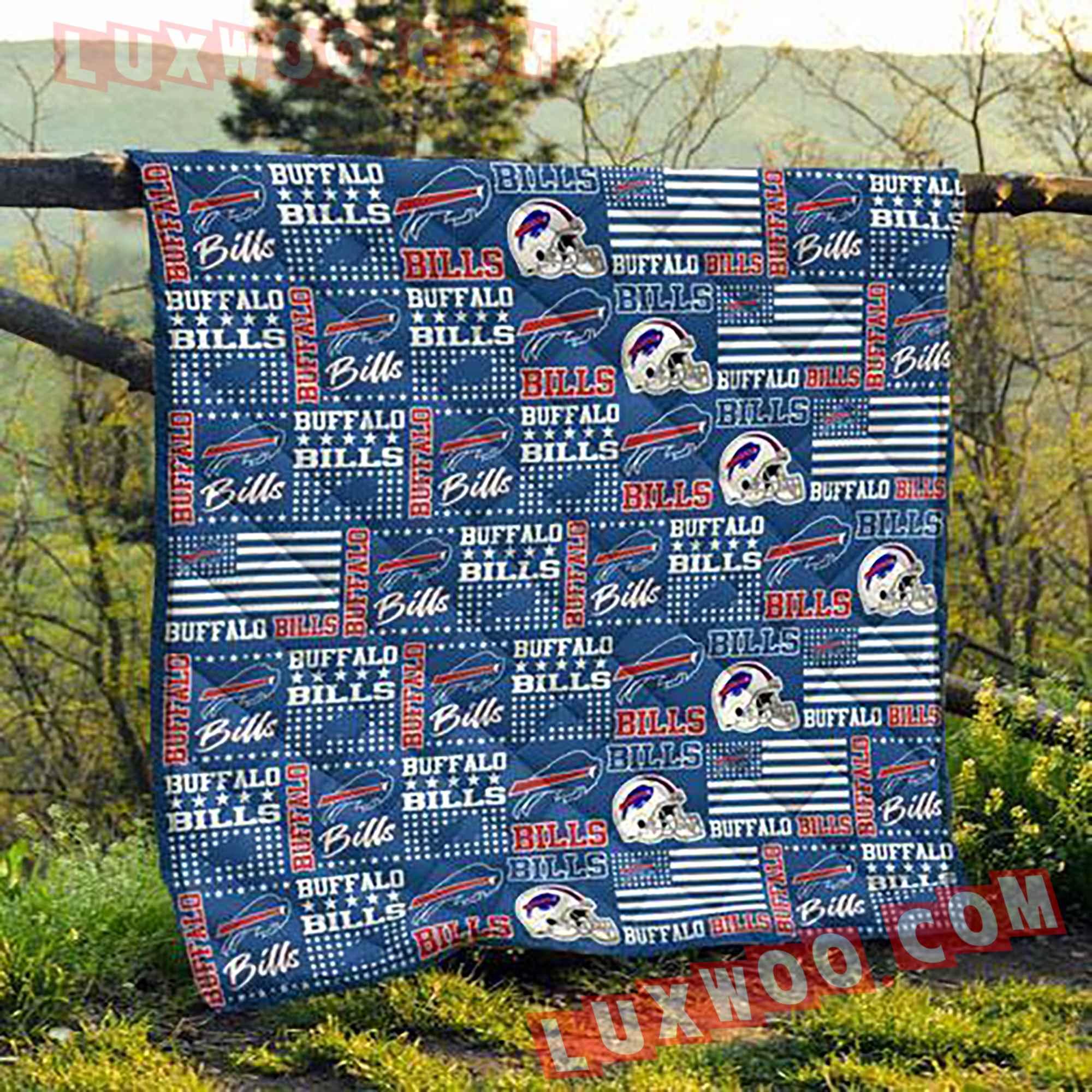 Buffalo Bills Nfl 3d Quilt Blanket V2