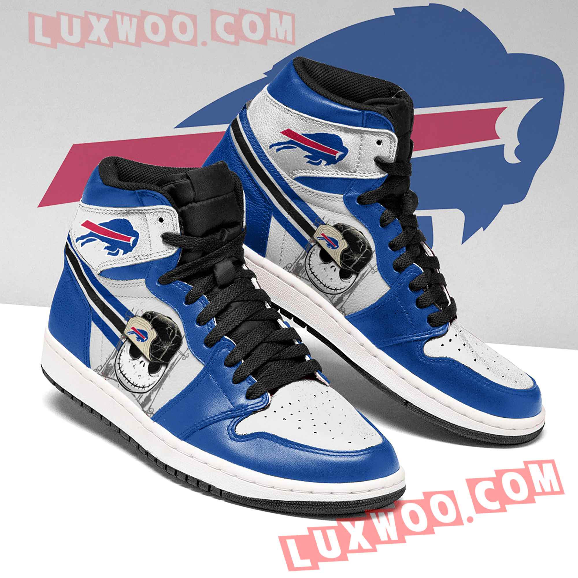 Buffalo Bills Nfl Air Jordan 1 Custom Shoes Sneaker V1