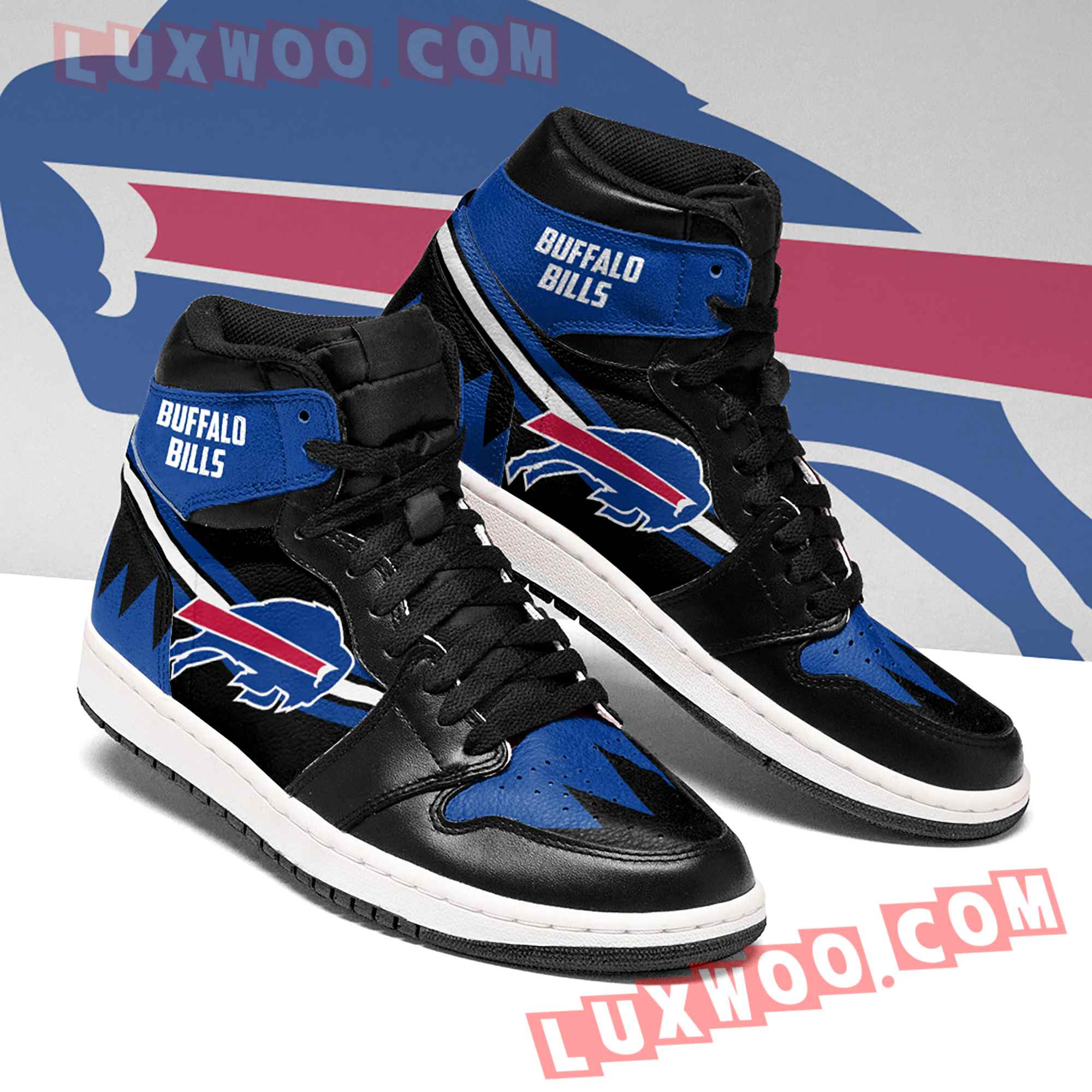 Buffalo Bills Nfl Air Jordan 1 Custom Shoes Sneaker V4