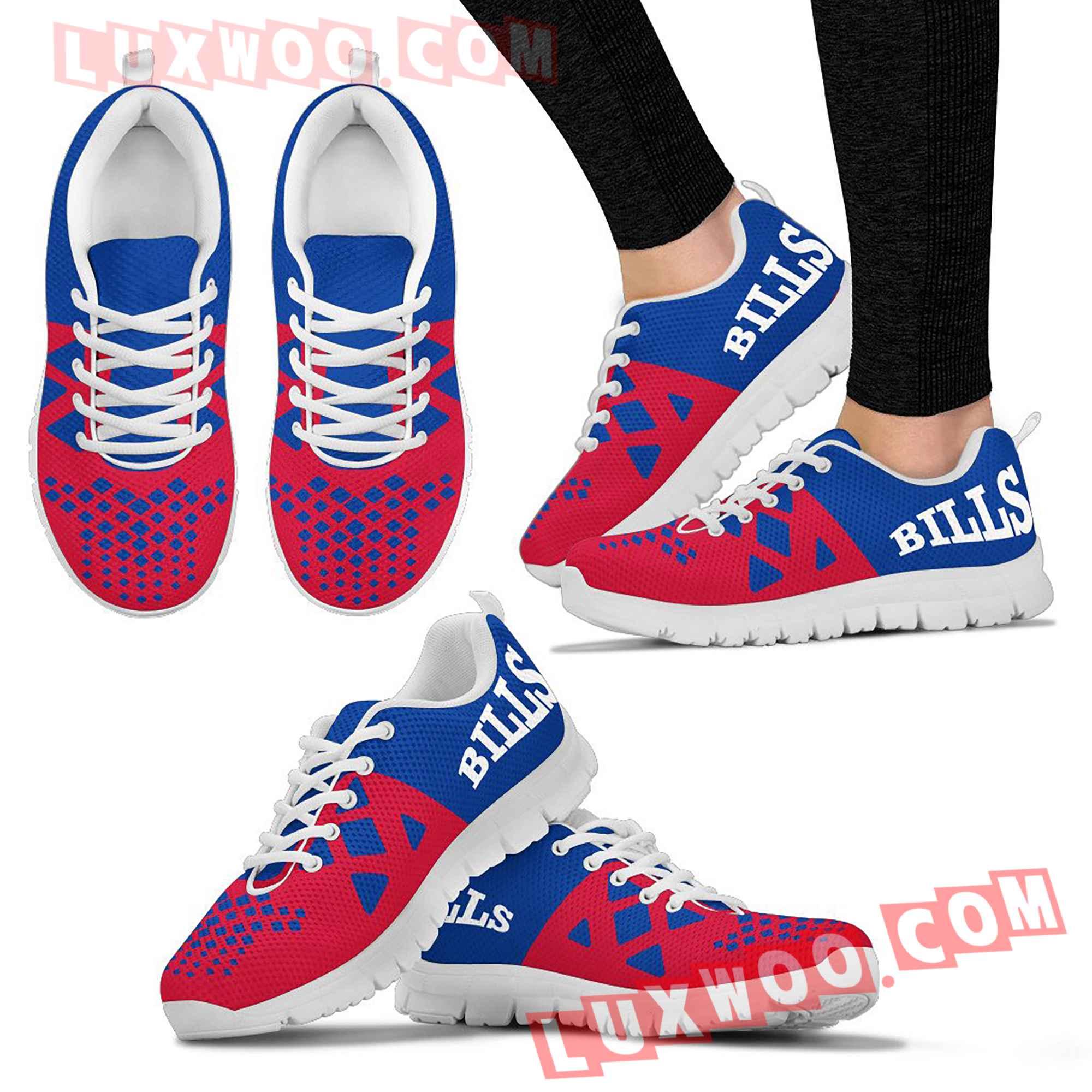 Buffalo Bills Nfl Custom Shoes Sneaker V2