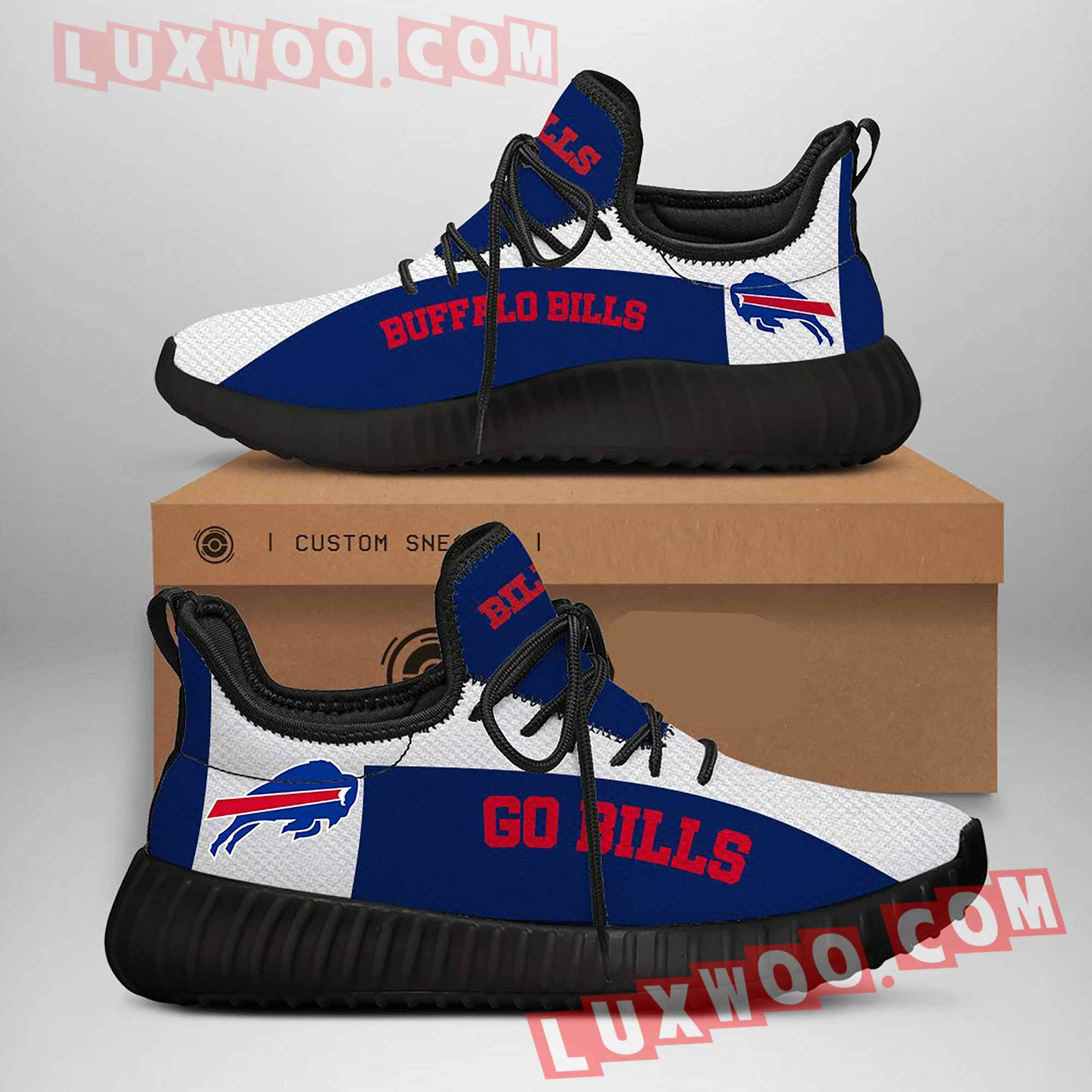 Buffalo Bills Nfl Yezzy Custom Shoes Sneaker V2