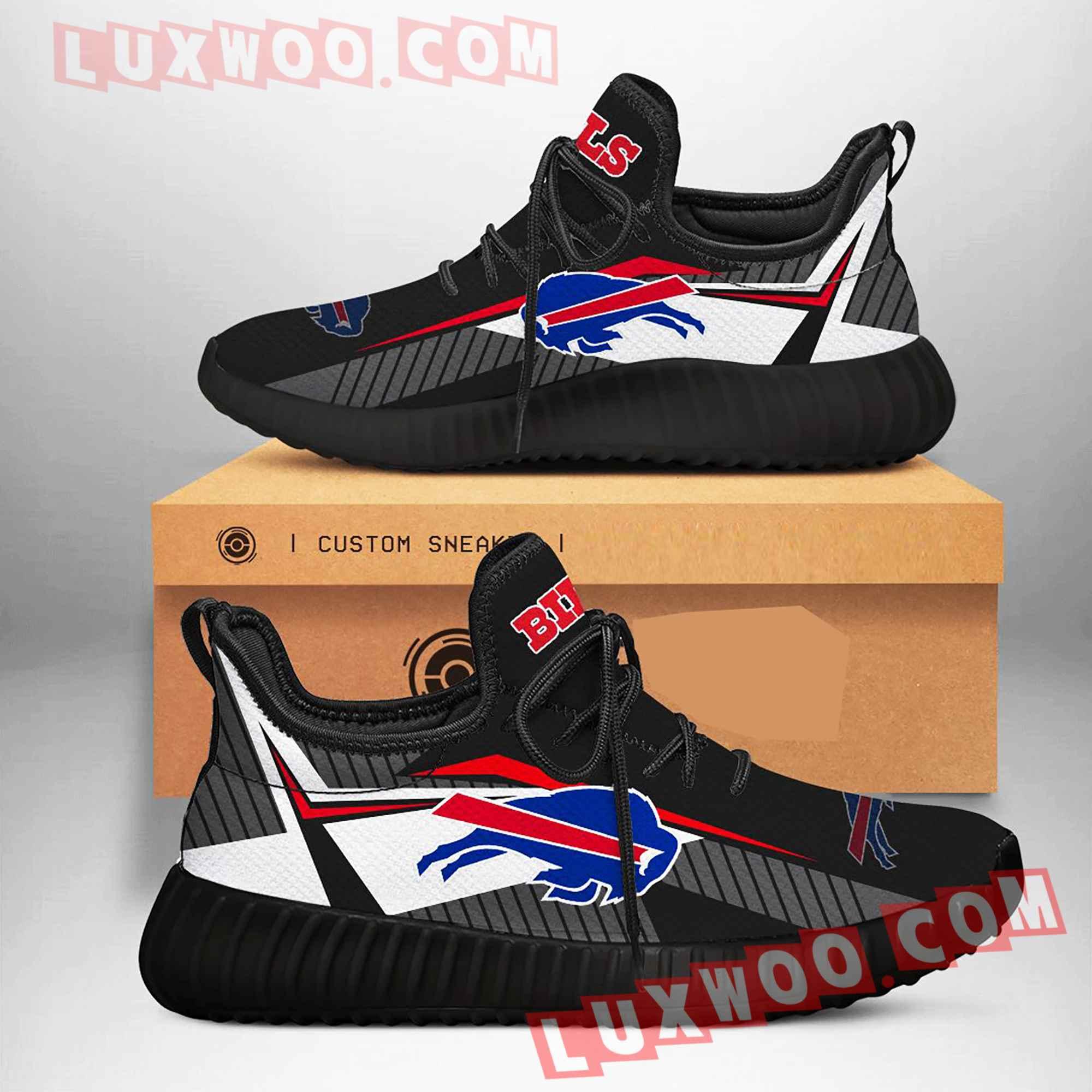 Buffalo Bills Nfl Yezzy Custom Shoes Sneaker V3