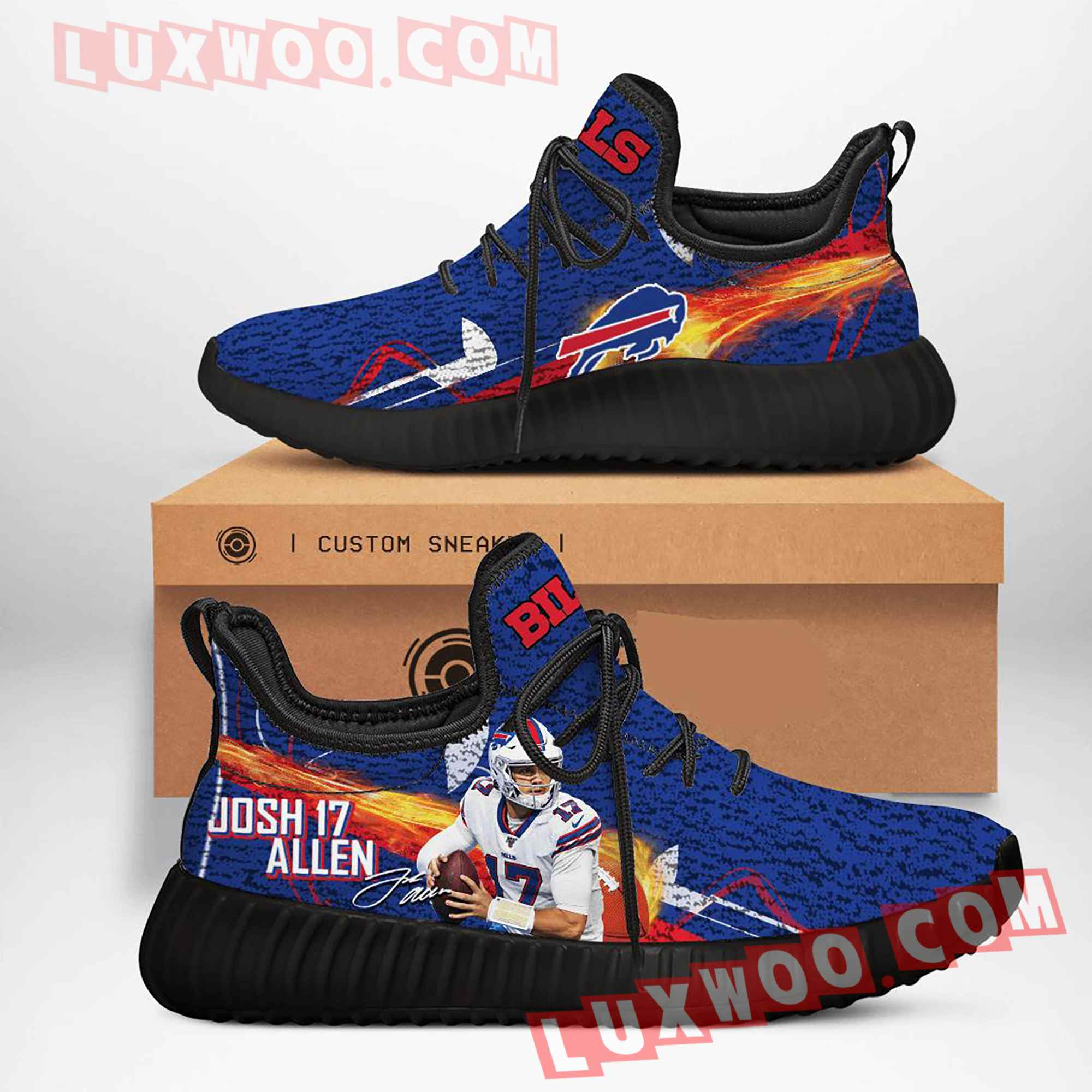 Buffalo Bills Nfl Yezzy Custom Shoes Sneaker V5