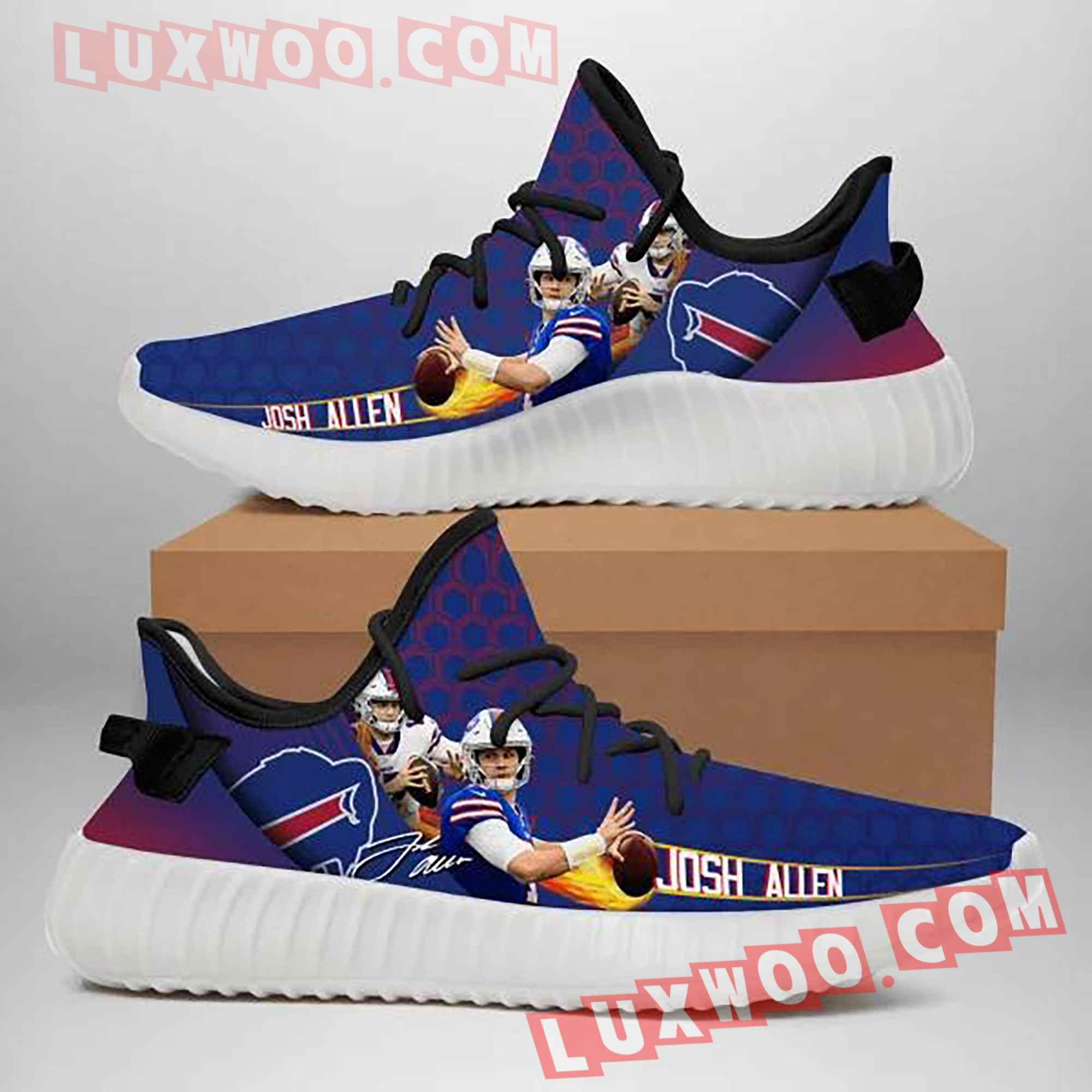 Buffalo Bills Nfl Yezzy Custom Shoes Sneaker V8