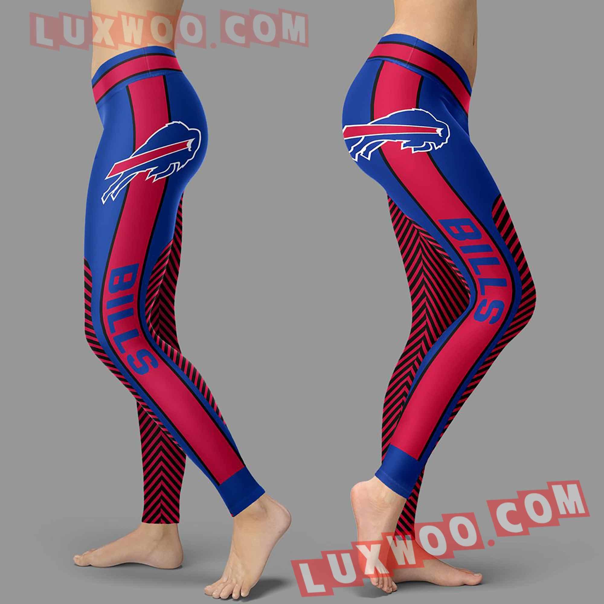 Nfl Buffalo Bills Leggings Custom All Over Print 3d Leggings V1