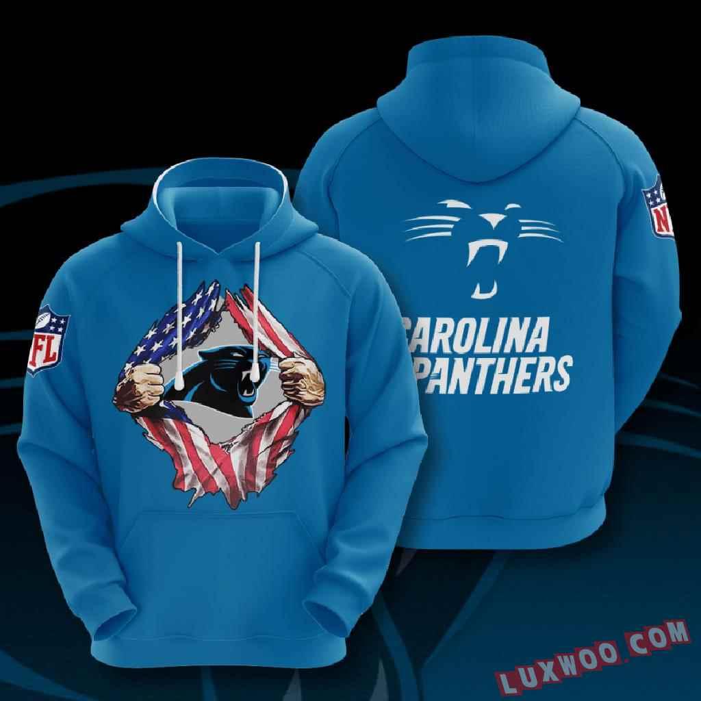 Nfl Carolina Panthers 3d Hoodie V1