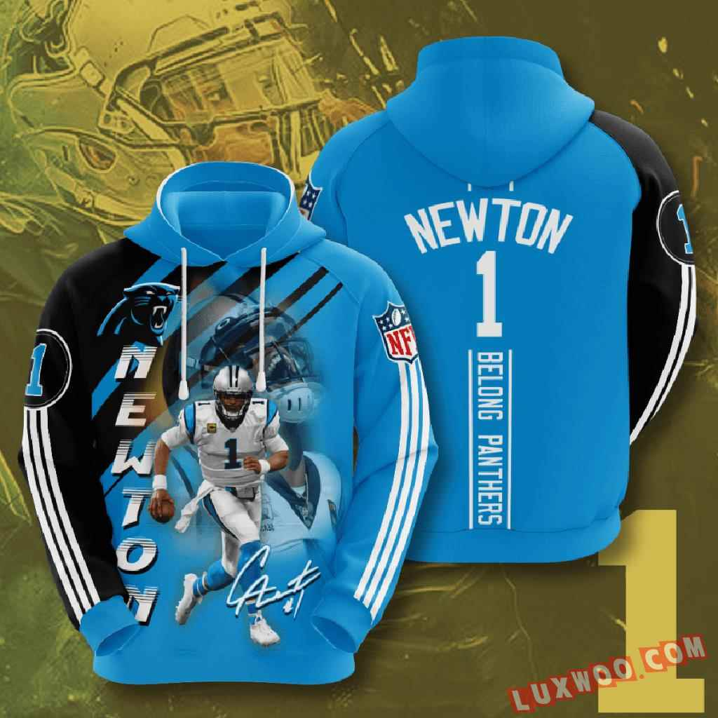 Nfl Carolina Panthers 3d Hoodie V13