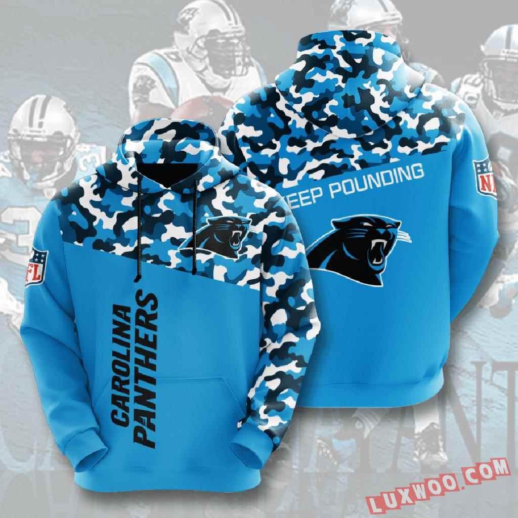 Nfl Carolina Panthers 3d Hoodie V3