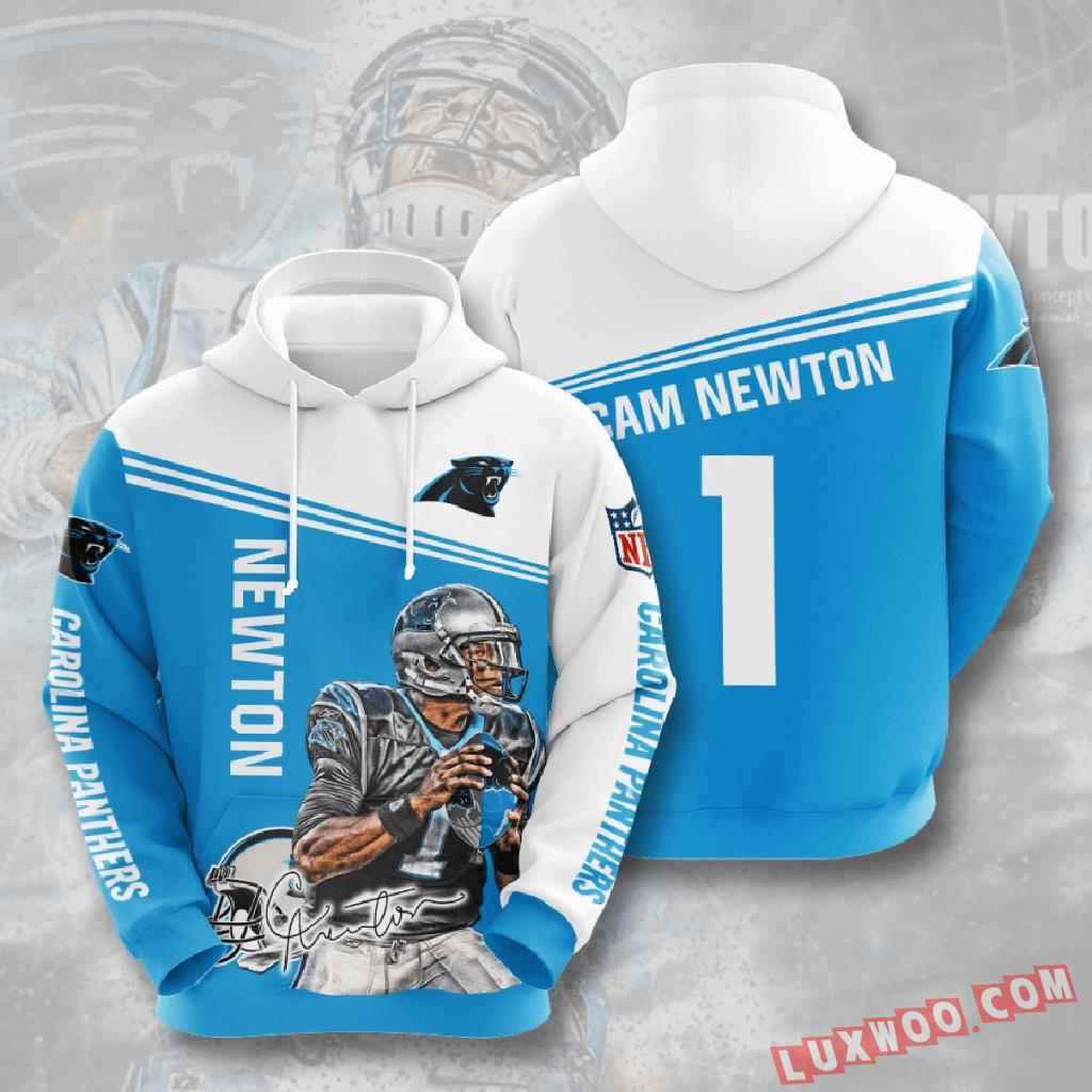 Nfl Carolina Panthers 3d Hoodie V7