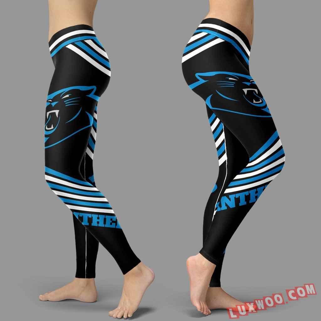 Nfl Carolina Panthers Leggings V2