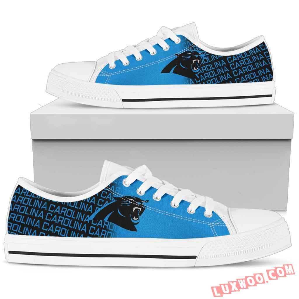 Nfl Carolina Panthers Low Top Shoes