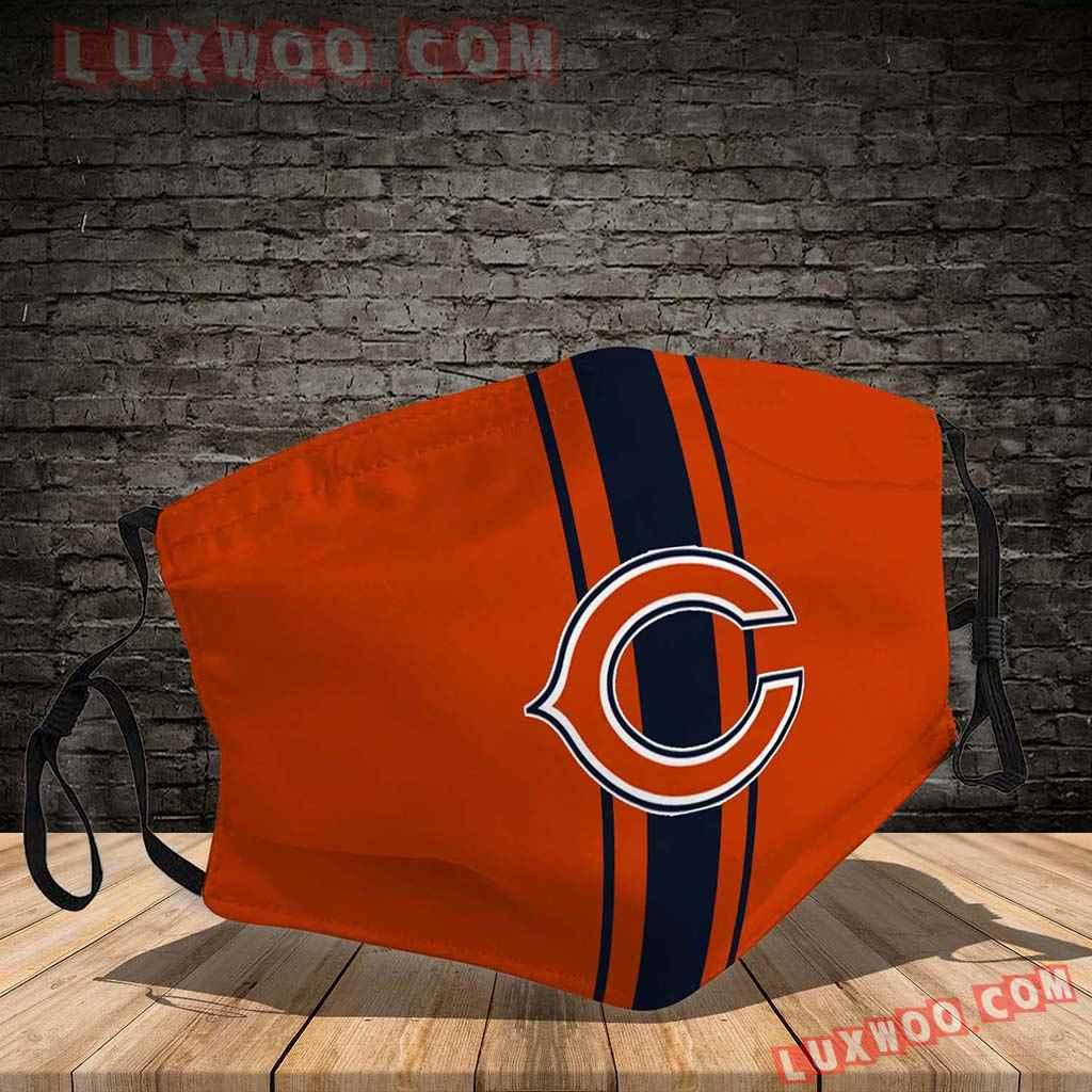 Chicago Bears 3d Face Mask V3