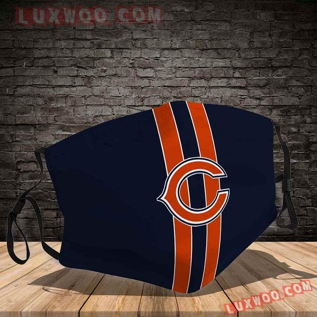 Chicago Bears 3d Face Mask V4