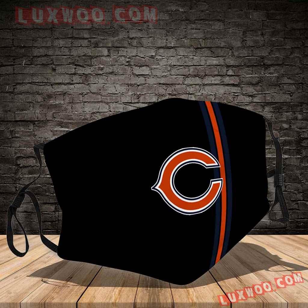Chicago Bears 3d Face Mask V5