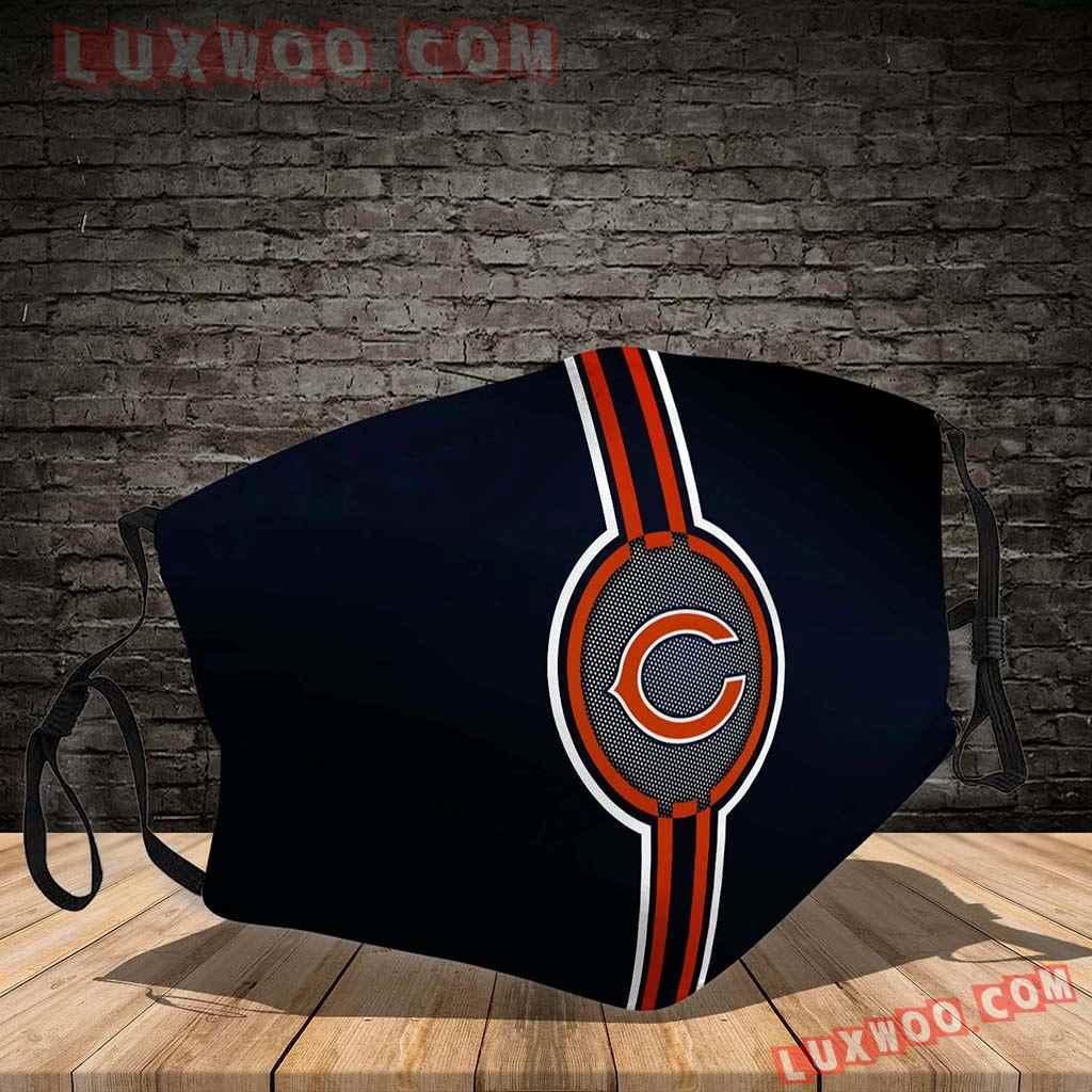 Chicago Bears 3d Face Mask V6